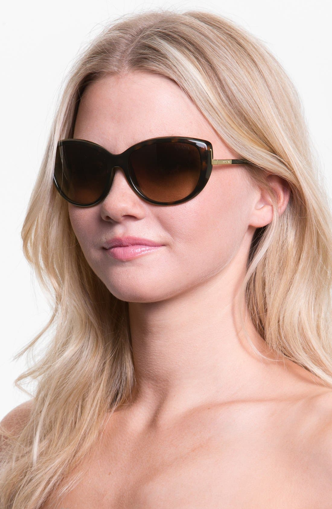 Alternate Image 2  - Prada 59mm Retro Sunglasses