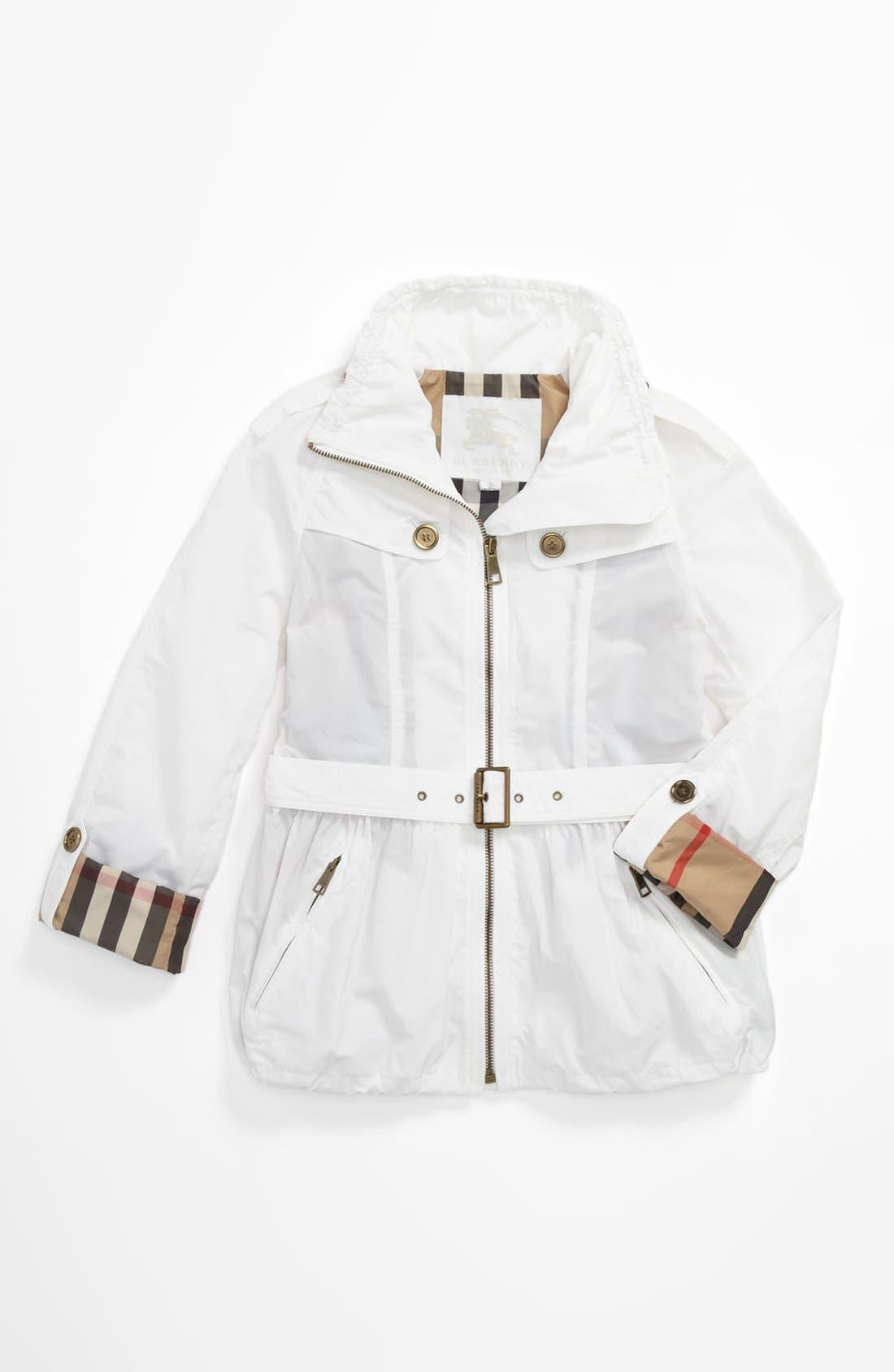 Alternate Image 1 Selected - Burberry 'Maddlebrook' Jacket (Little Girls & Big Girls)
