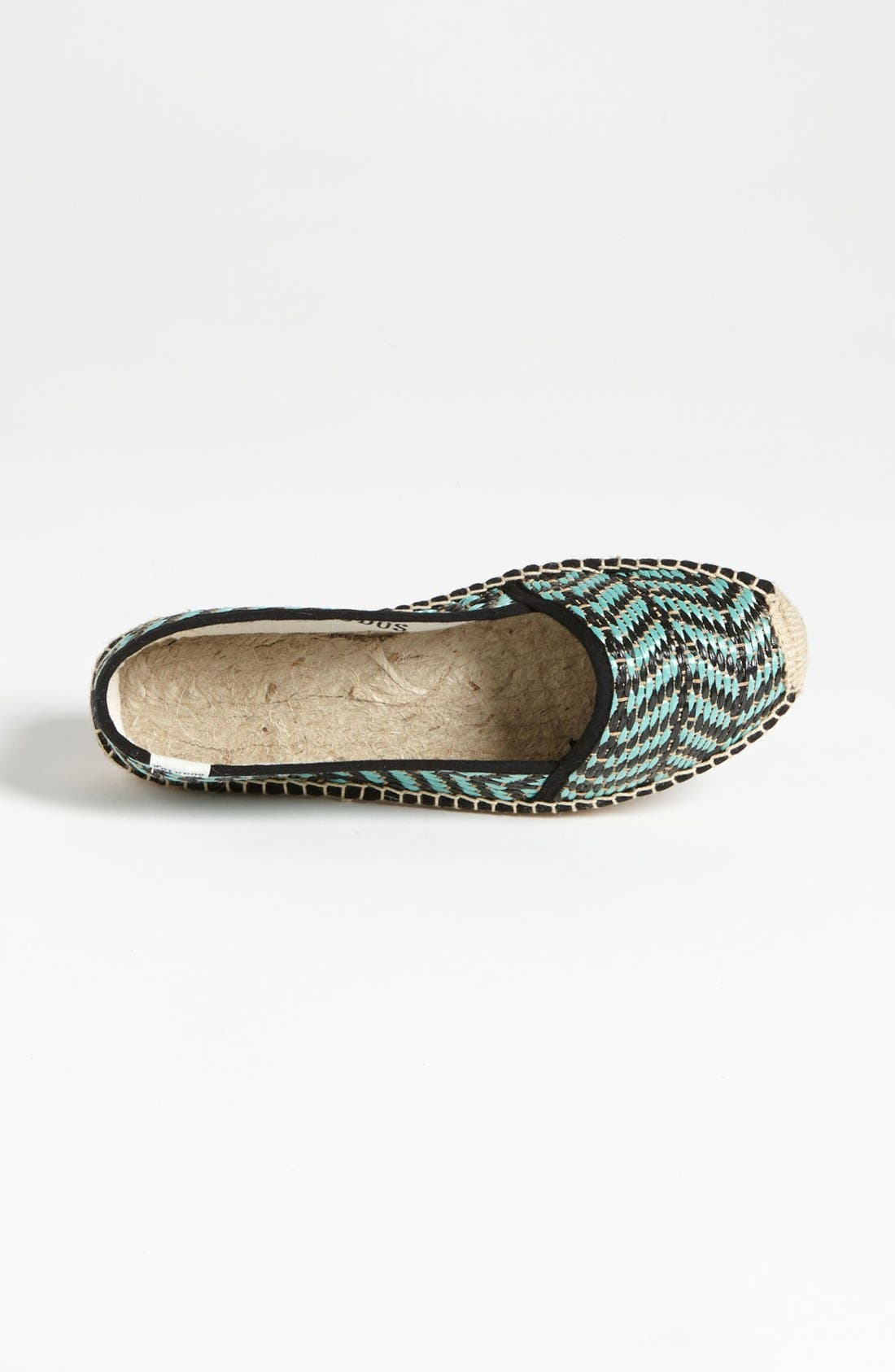 Alternate Image 3  - Soludos 'Raffia' Flat (Women)