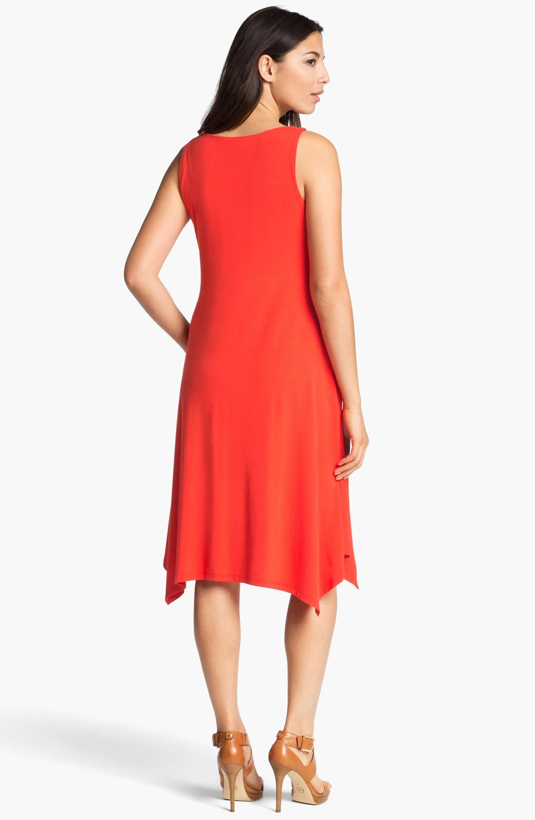 Alternate Image 2  - Eileen Fisher Cowl Neck Dress (Regular & Petite)