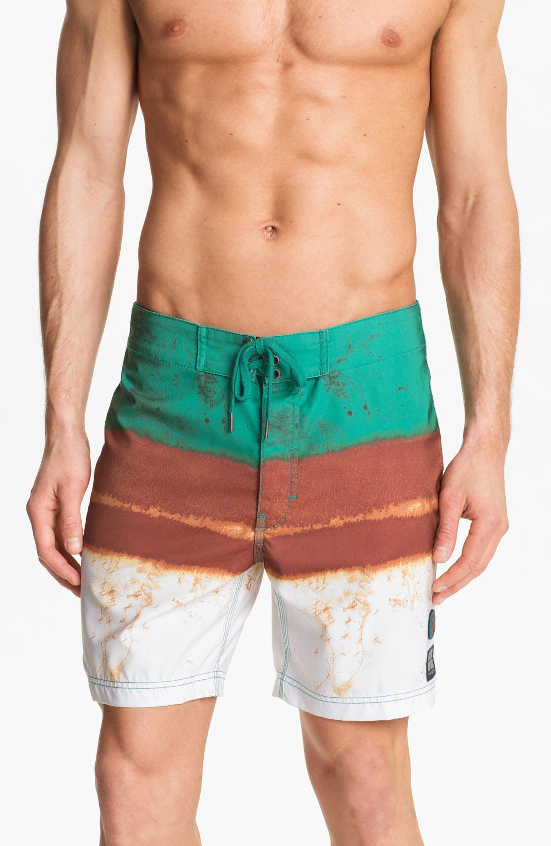 Alternate Image 1 Selected - Insight 'Le Blur' Volley Swim Trunks