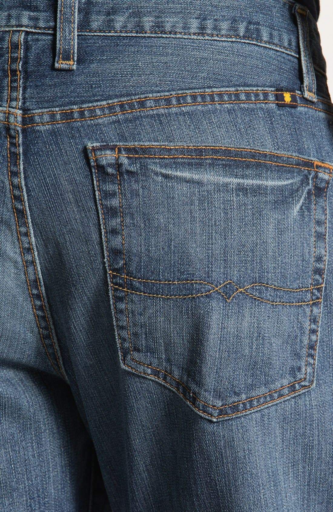 Alternate Image 4  - Lucky Brand '329' Classic Straight Leg Jeans (Sandy)