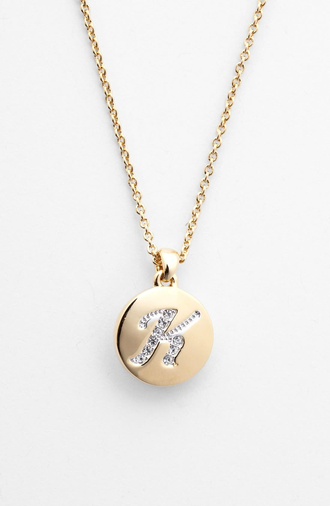 Alternate Image 1 Selected - Nadri Boxed Initial Pendant Necklace (Nordstrom Exclusive)