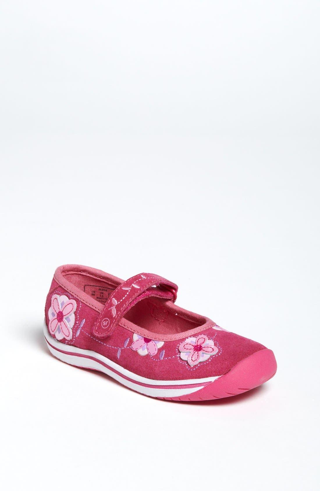 Alternate Image 1 Selected - Stride Rite 'Jessie' Mary Jane Sneaker (Baby, Walker & Toddler)