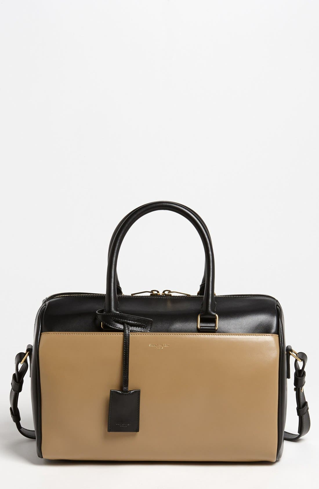 Main Image - Saint Laurent 'Duffel 6' Leather Satchel