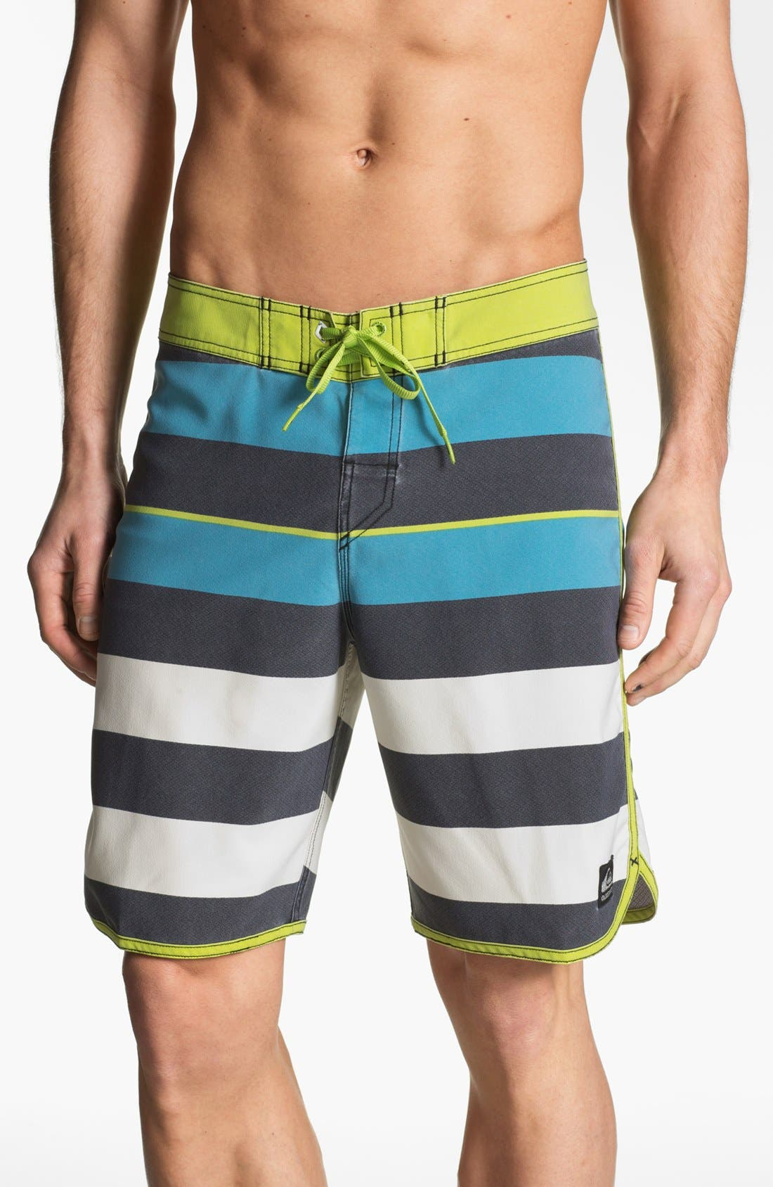 Alternate Image 1 Selected - Quiksilver 'Cypher Brigg Scallop' Board Shorts