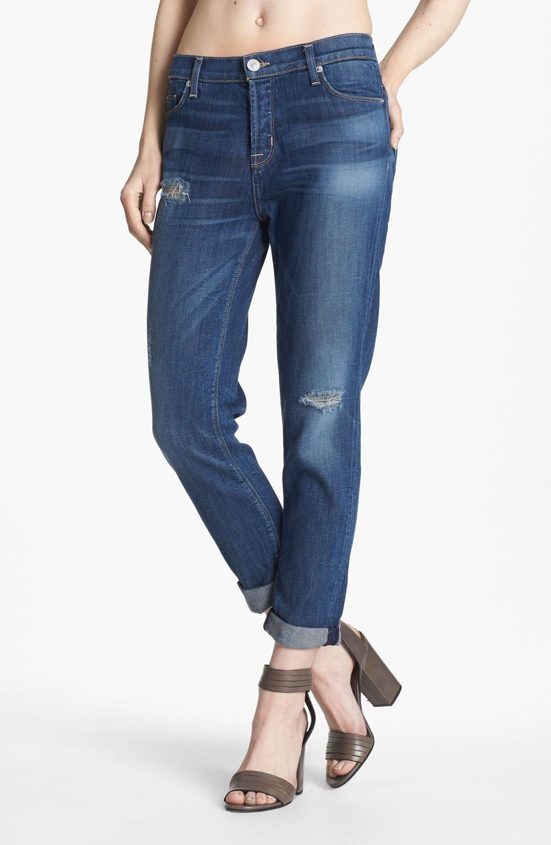 Main Image - Hudson Jeans 'Leigh' Boyfriend Jeans (Youth Vintage)