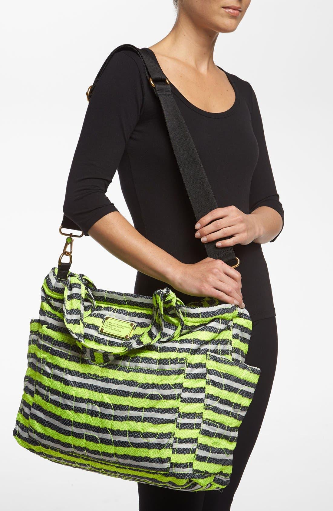 Alternate Image 2  - MARC BY MARC JACOBS 'Pretty Nylon Eliz-A-Baby - Anemone' Diaper Bag