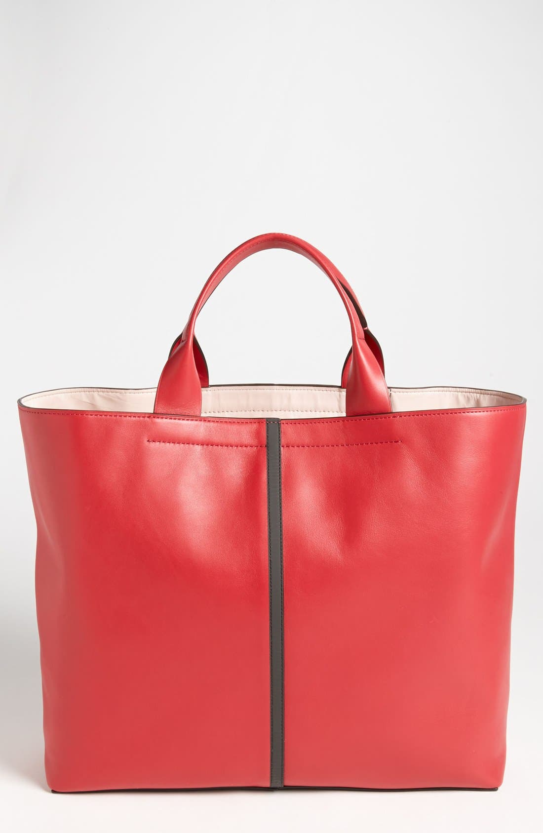 Main Image - Reed Krakoff 'Track' Glazed Leather Tote