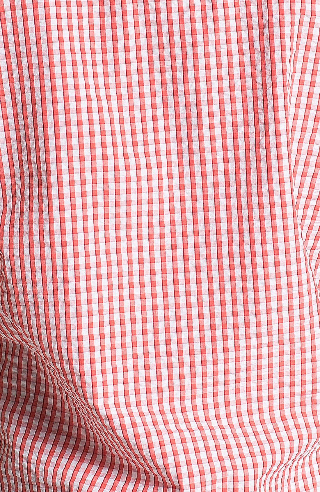 Alternate Image 3  - Thomas Dean Seersucker Sport Shirt