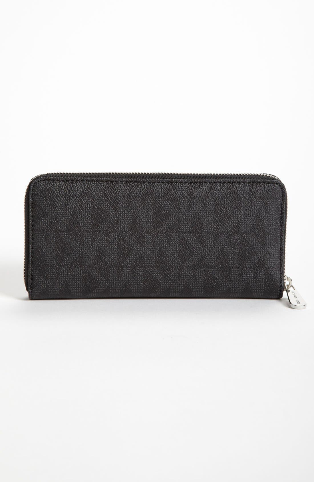 Alternate Image 3  - MICHAEL Michael Kors 'Signature' Zip Around Wallet