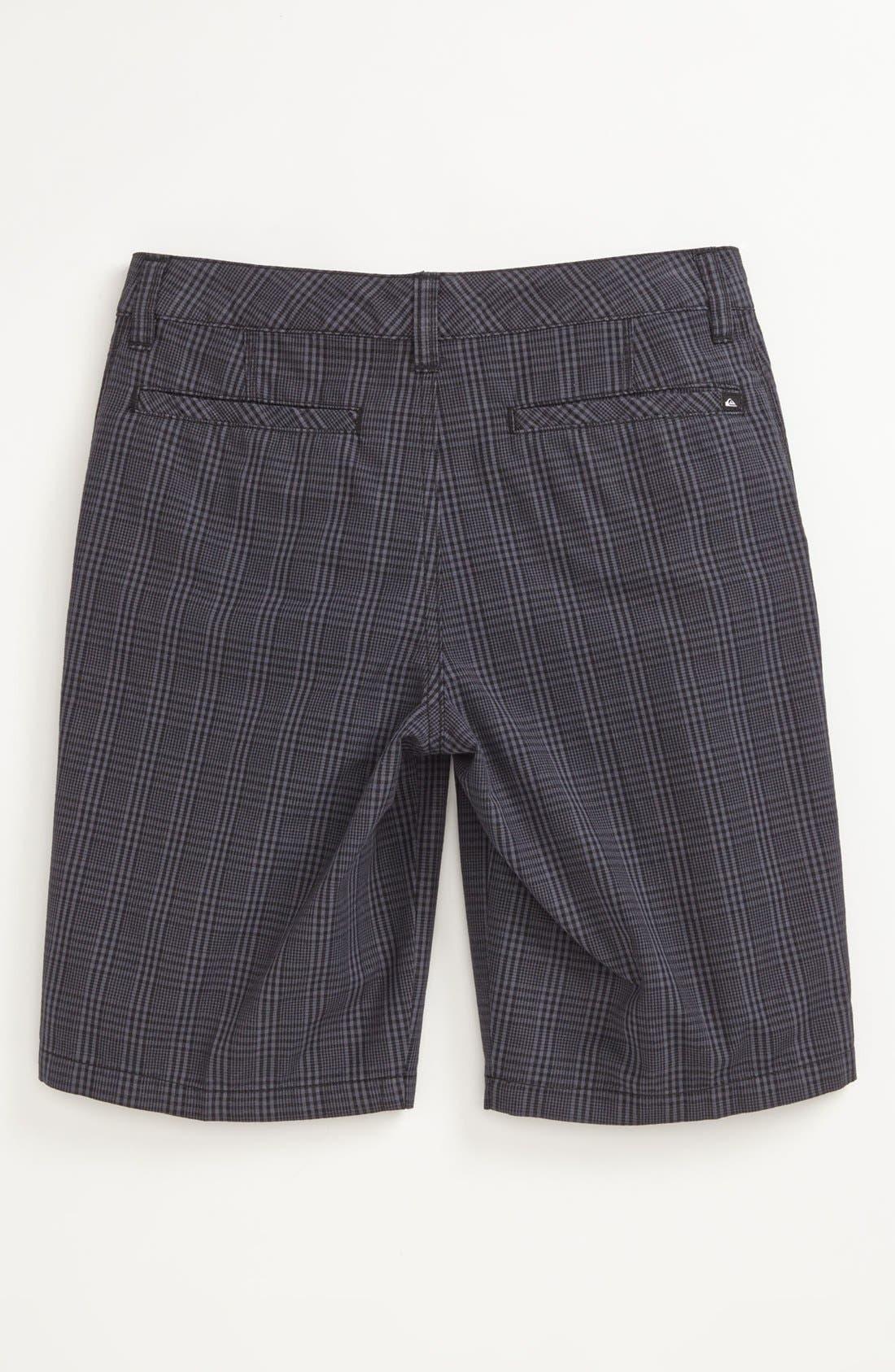 Alternate Image 2  - Quiksilver 'Agenda Suiting' Plaid Shorts (Big Boys)