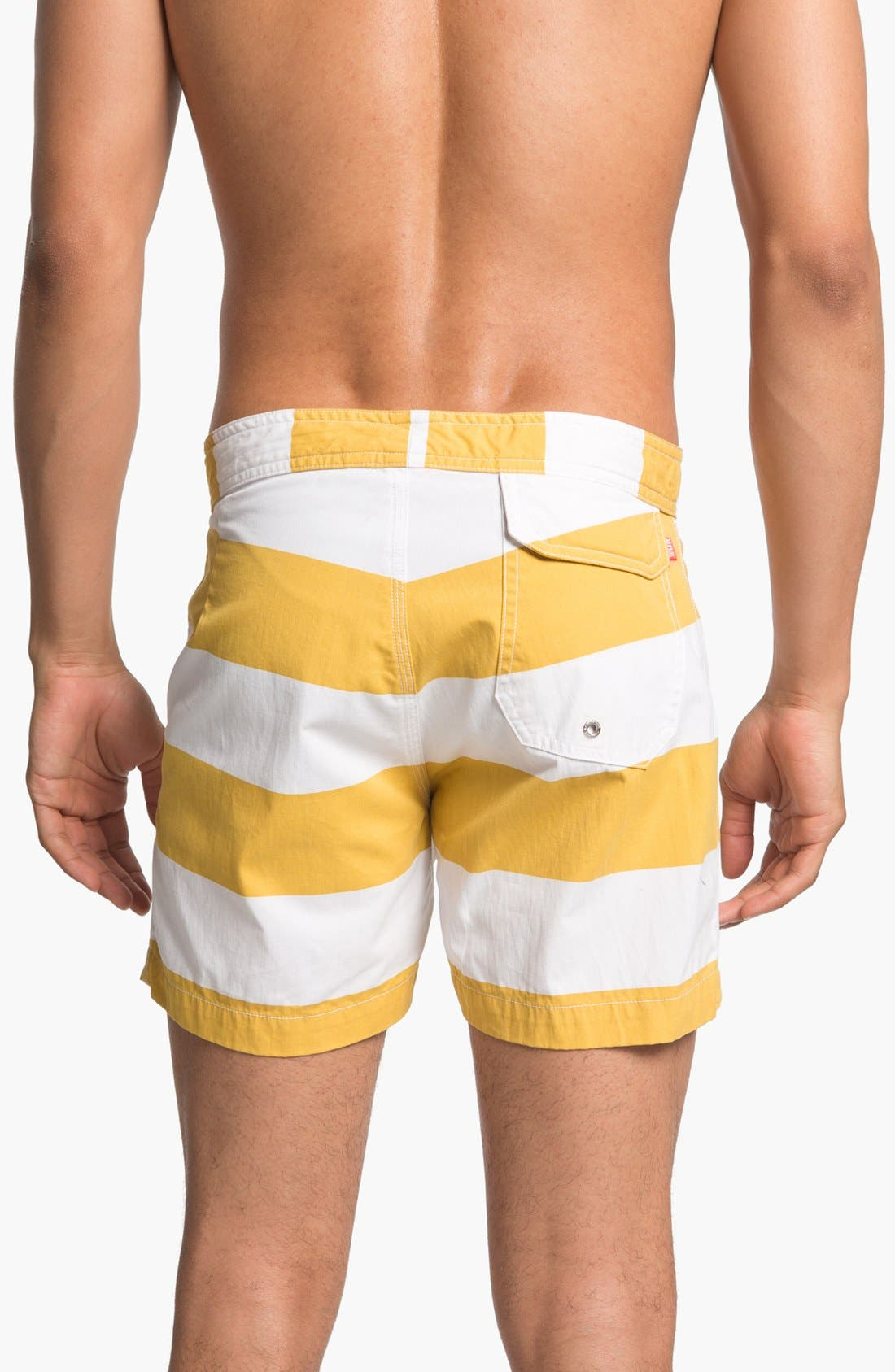 Alternate Image 2  - Warriors of Radness Classic Stripe Board Shorts