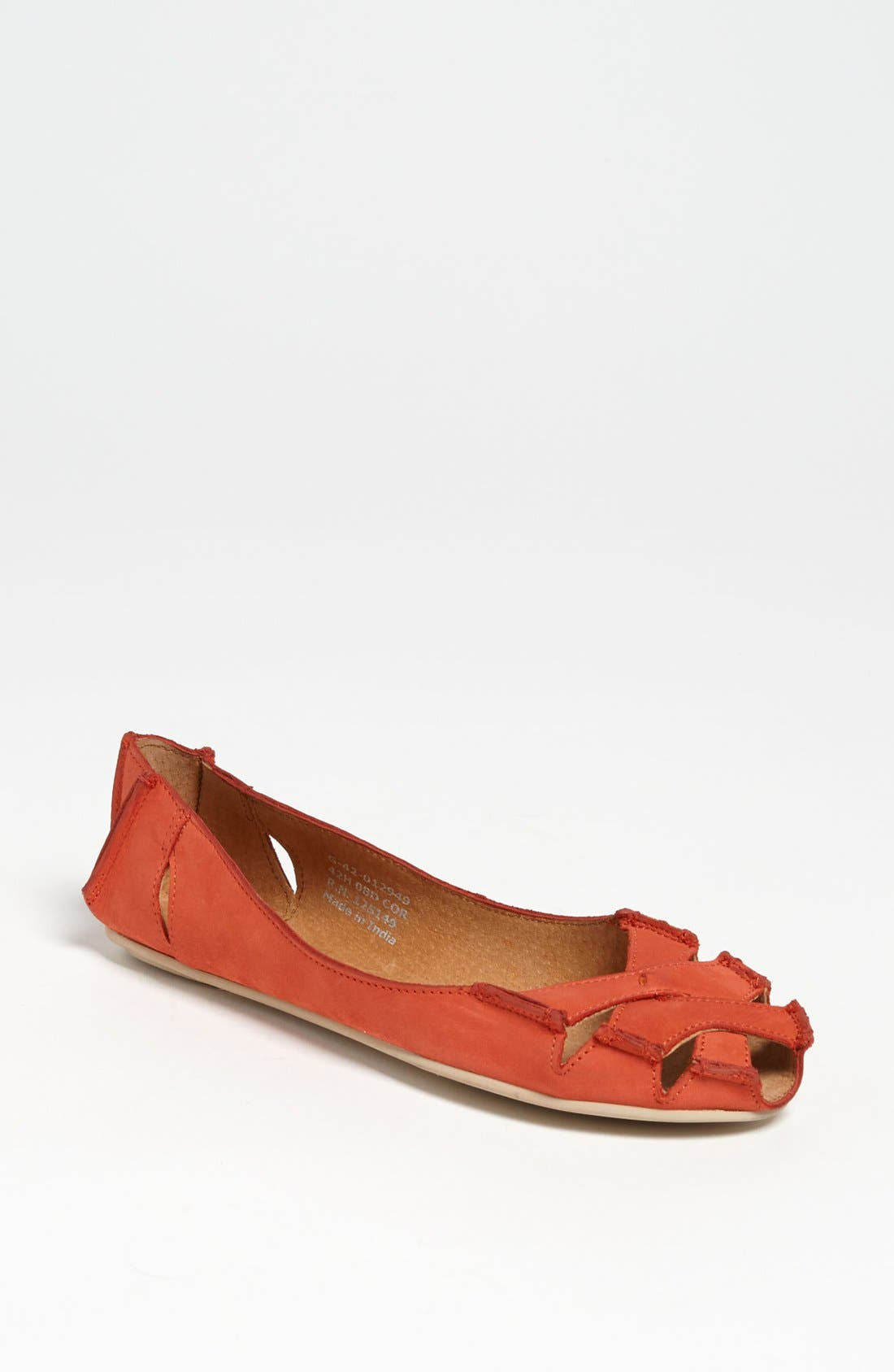 Alternate Image 1 Selected - Topshop Cutout Flats