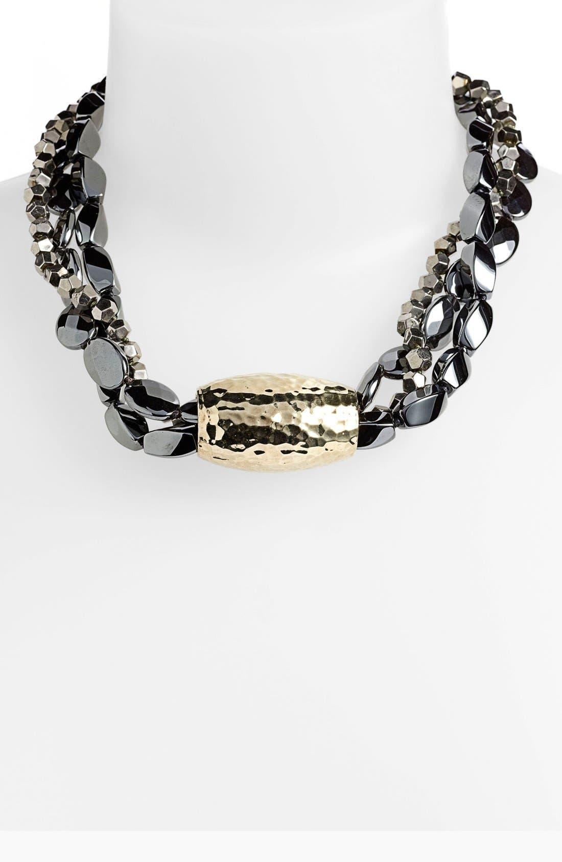 Alternate Image 1 Selected - Simon Sebbag Multistrand Beaded Necklace