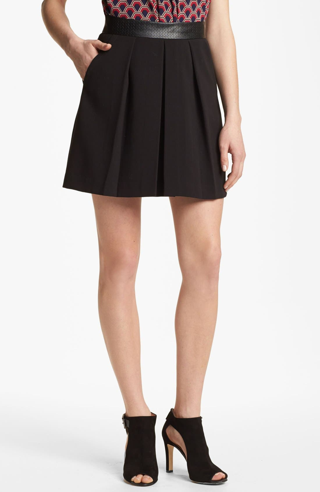 Main Image - Trina Turk 'Kimbra' Pleated Skirt