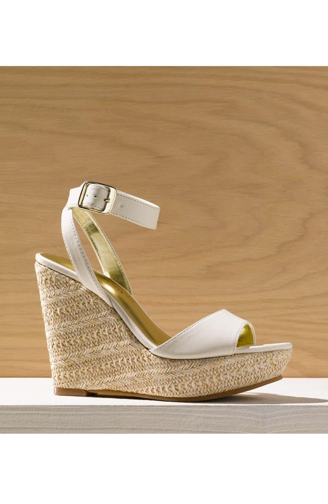 Alternate Image 5  - Julianne Hough for Sole Society 'Adrienne' Wedge Sandal