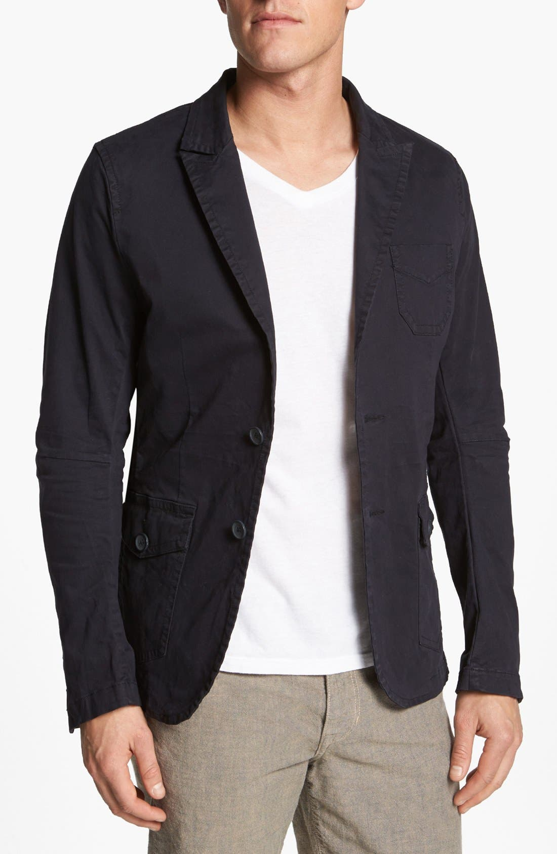Alternate Image 1 Selected - Rogue Washed Cotton Blazer