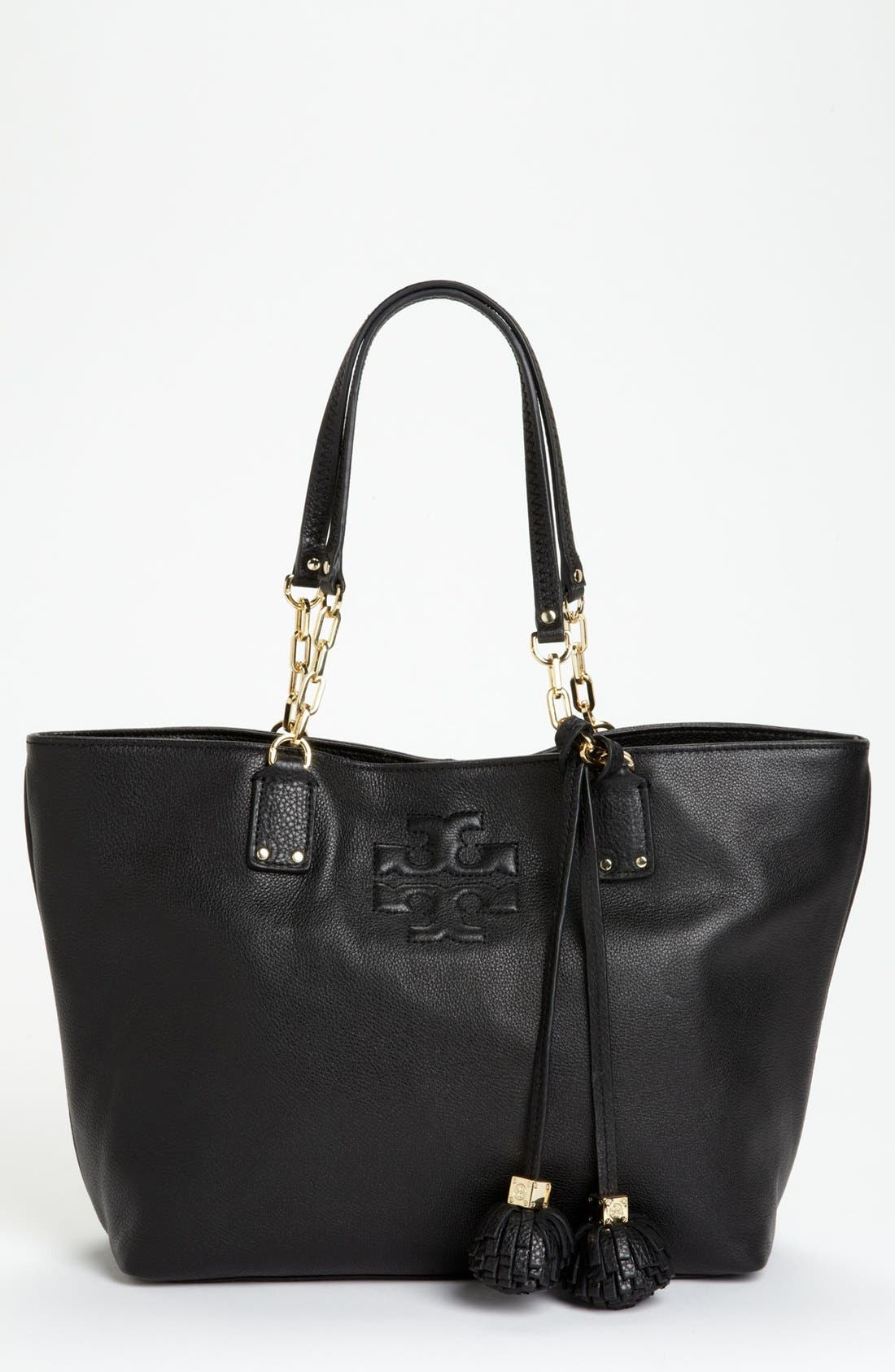 Alternate Image 1 Selected - Tory Burch 'Thea - Small' Leather Tote