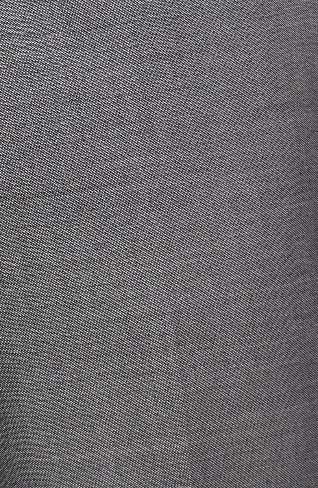 Alternate Image 3  - BOSS HUGO BOSS 'Sharp' Flat Front Wool Trousers