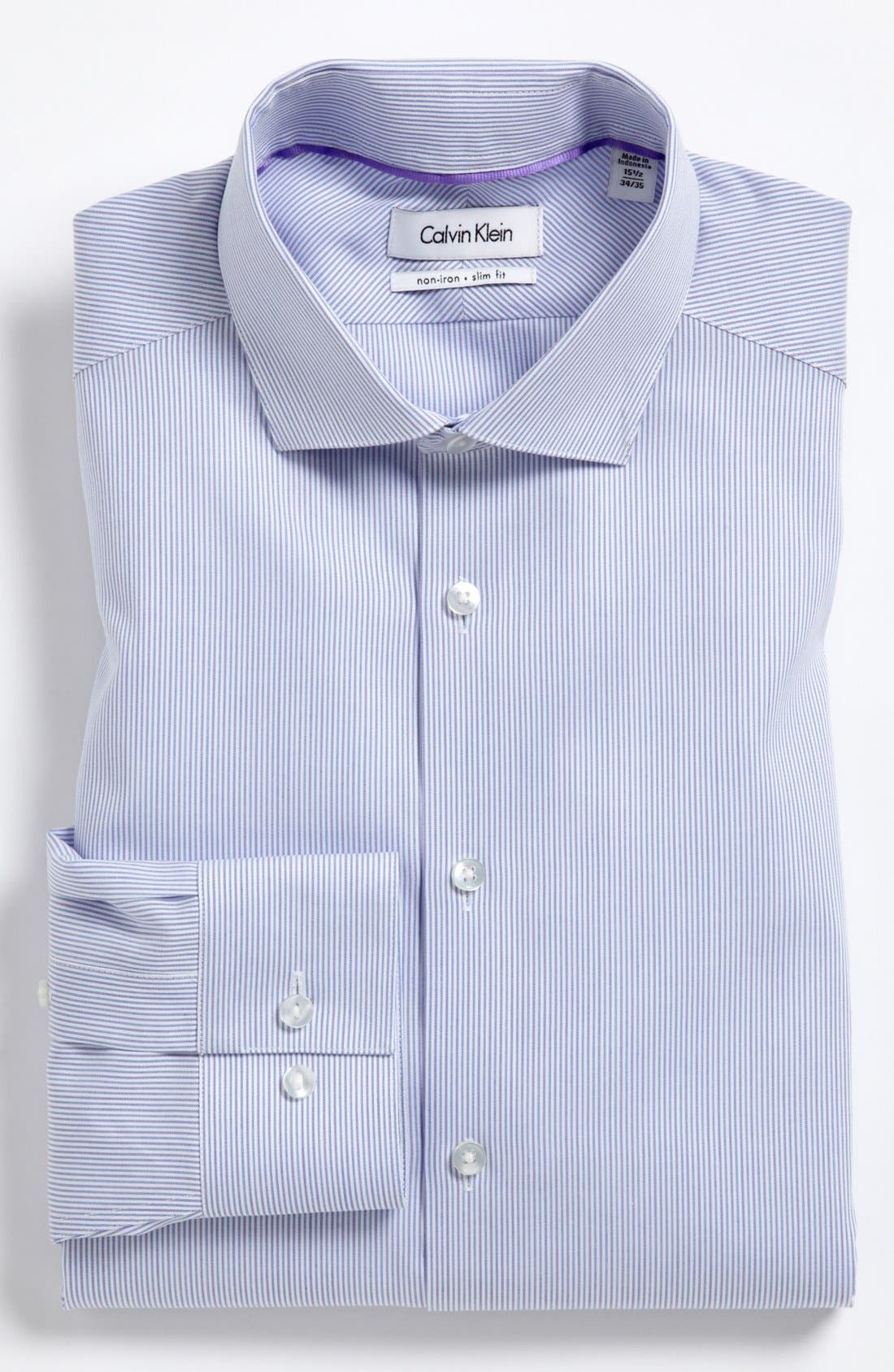 Main Image - Calvin Klein Slim Fit Dress Shirt