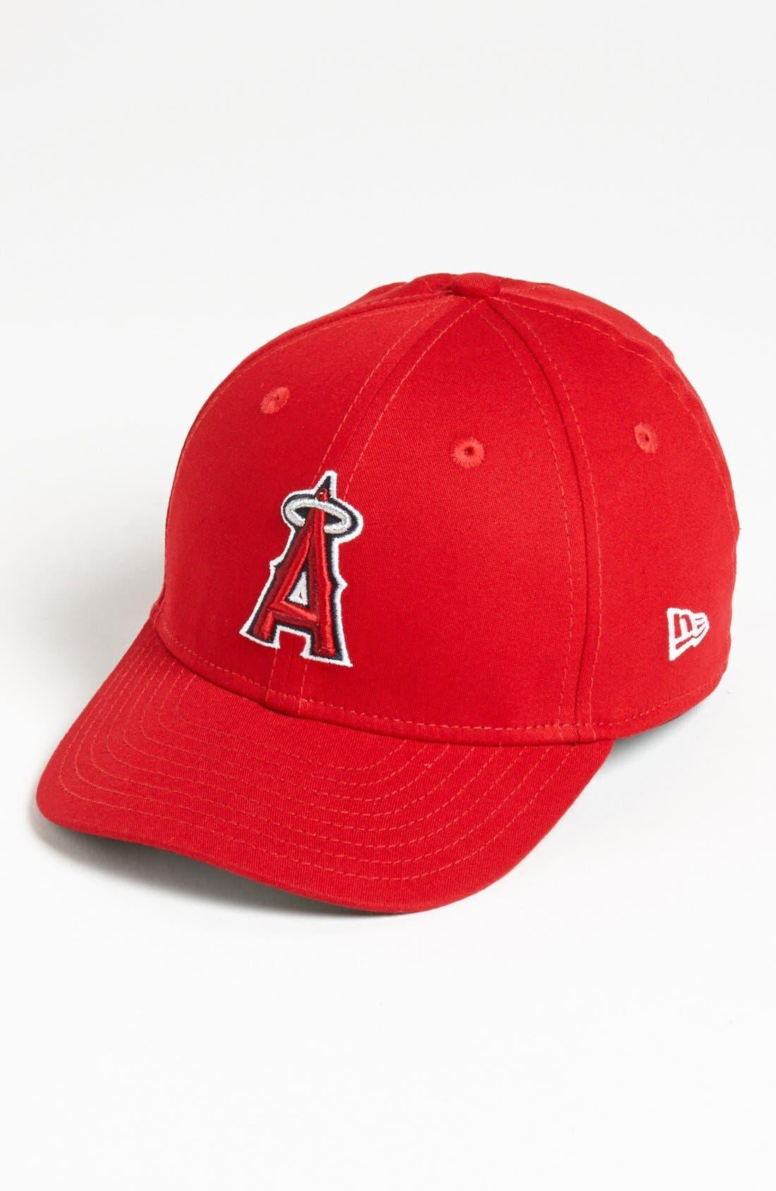 Alternate Image 1 Selected - New Era Cap 'Los Angeles Angels of Anaheim - Tie Breaker' Baseball Cap (Big Boys)