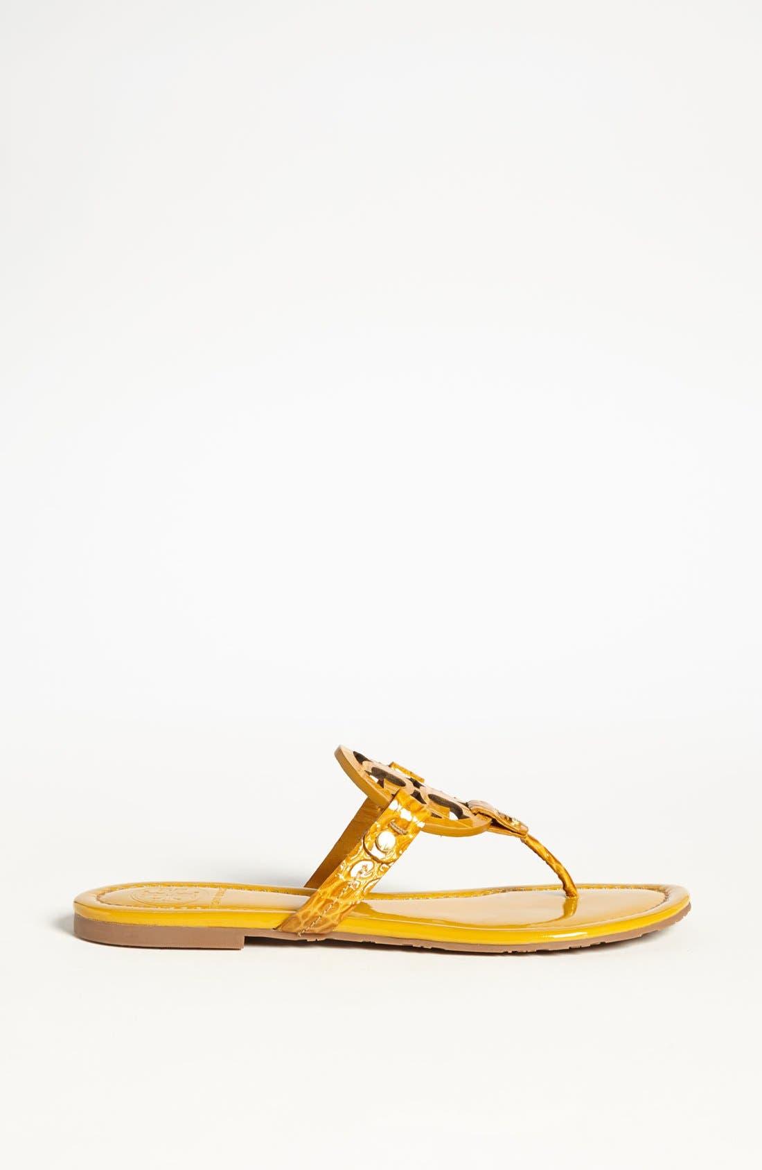 Alternate Image 2  - Tory Burch 'Miller' Croc Embossed Sandal (Online Only)