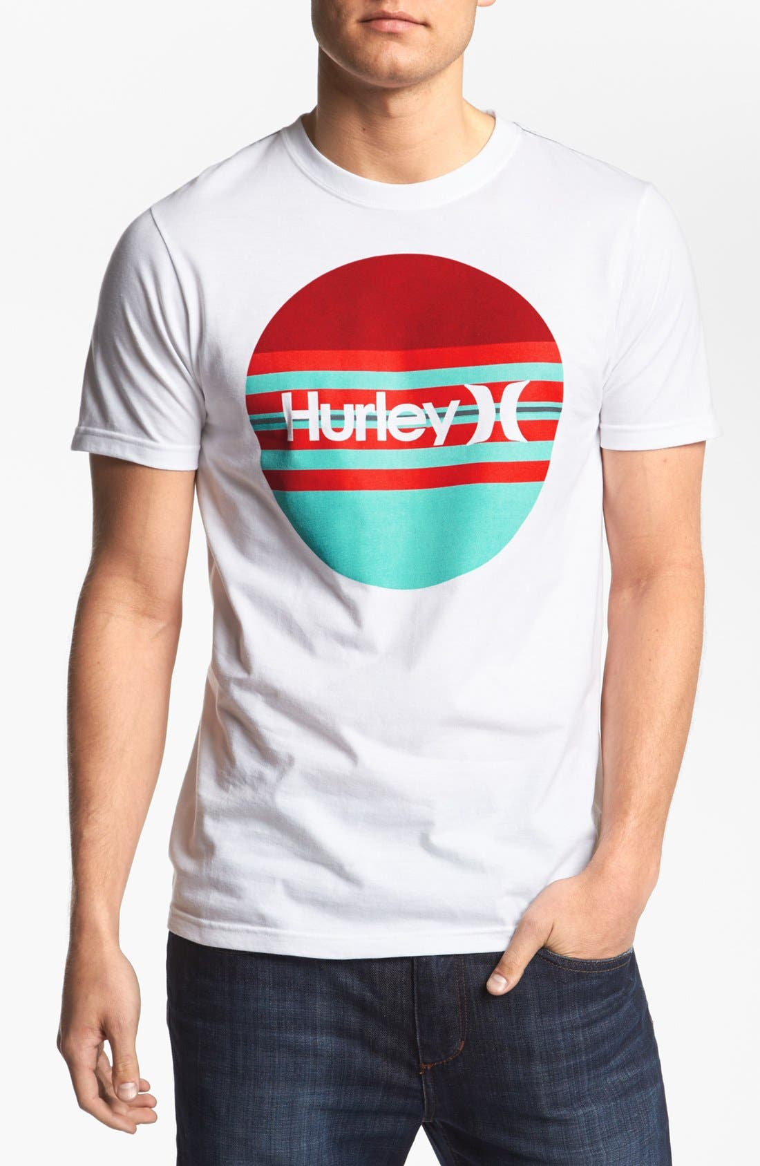 Alternate Image 1 Selected - Hurley 'Krush Boardie' T-Shirt