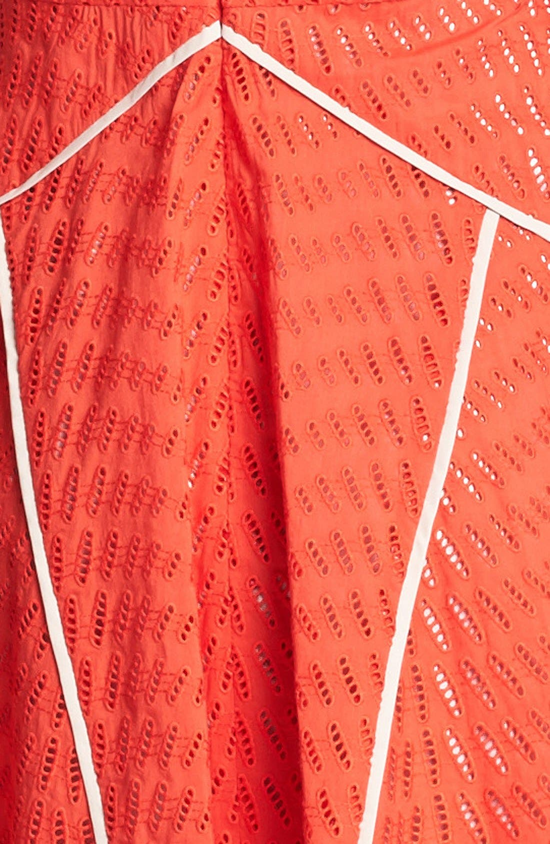 Alternate Image 3  - Vince Camuto Sleeveless Fit & Flare Dress