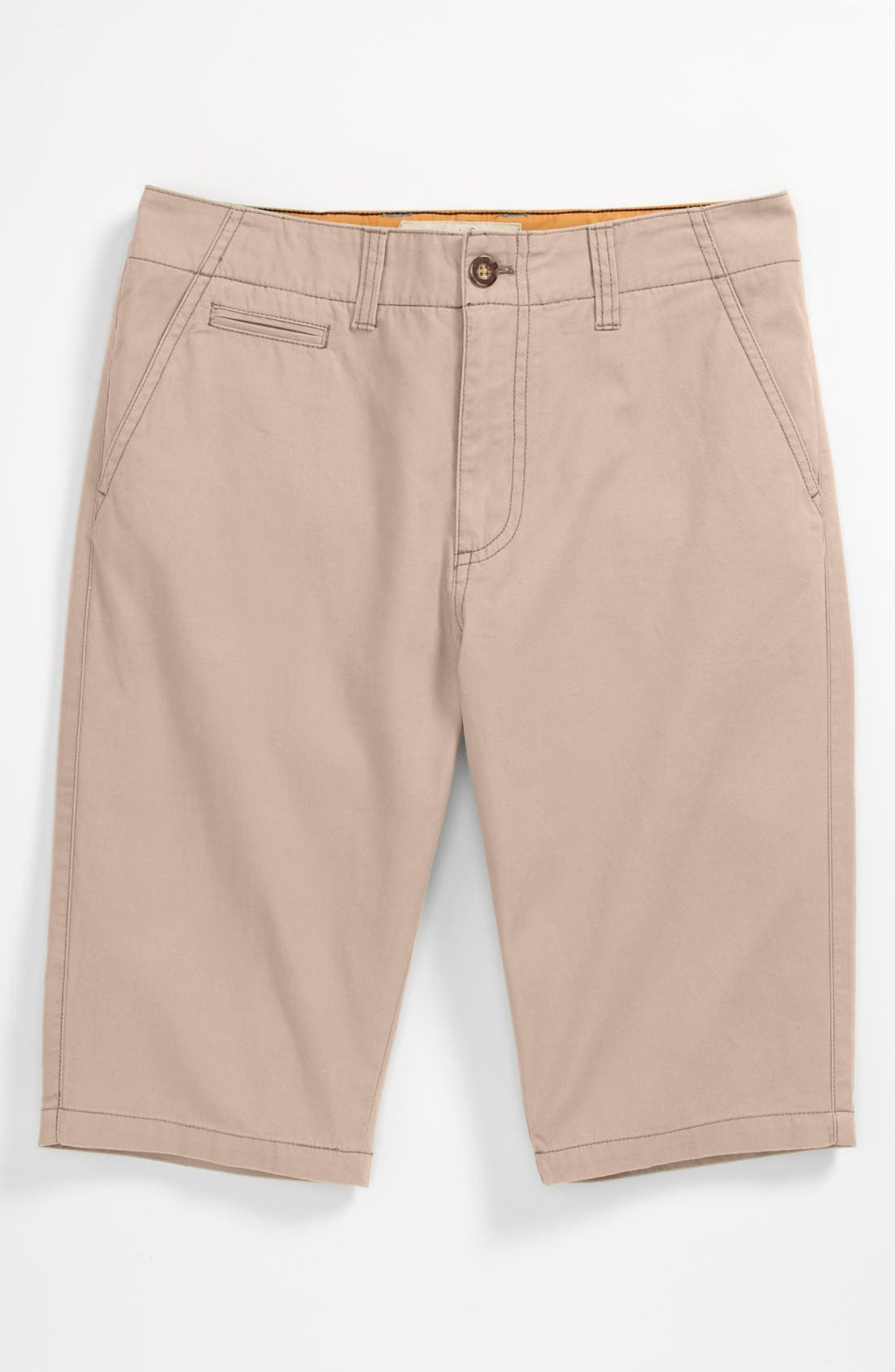 Alternate Image 1 Selected - Johnnie b Chino Shorts (Big Boys)