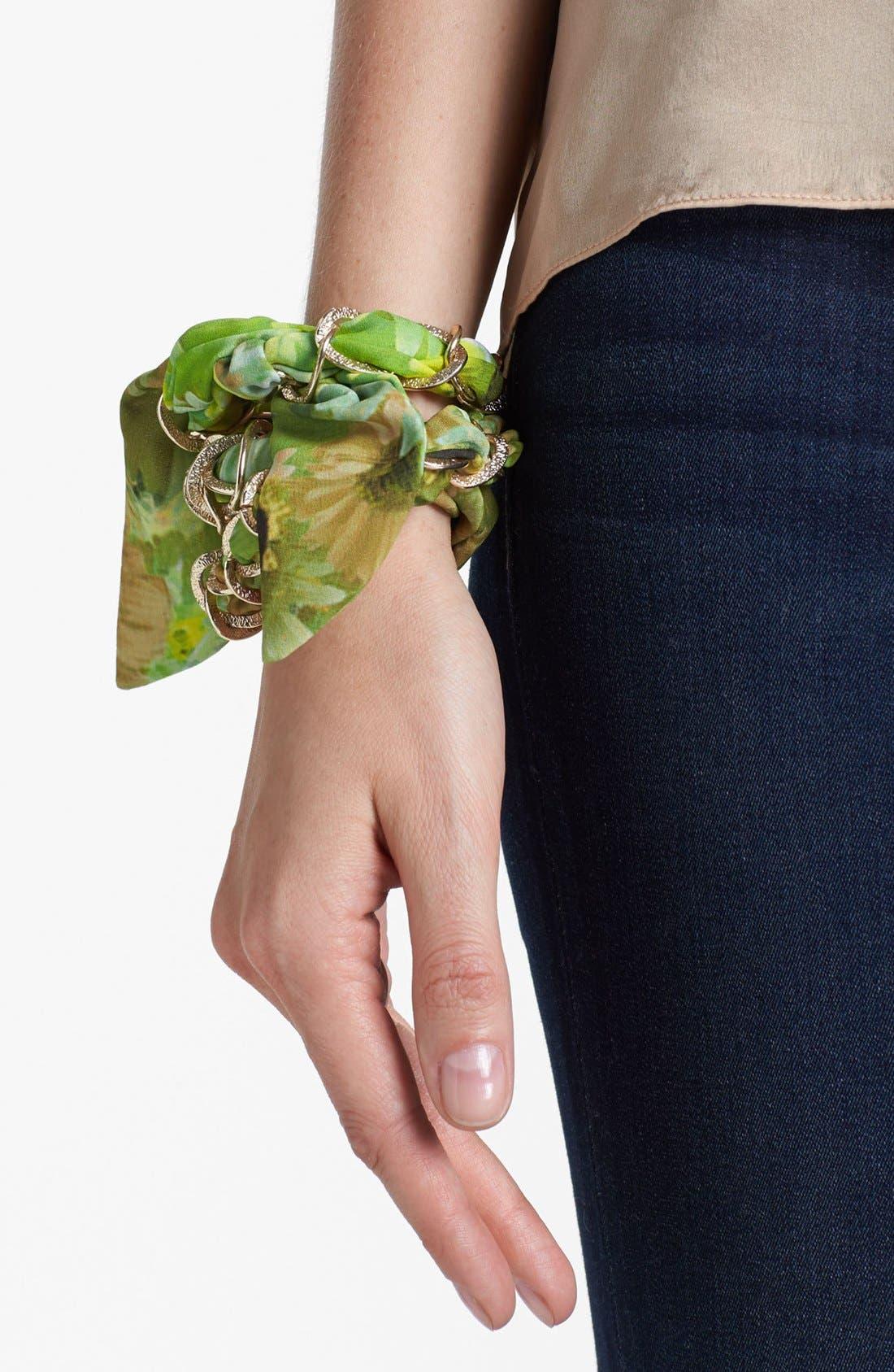 Main Image - Tasha 'Daisies for Days' Chain Head Wrap