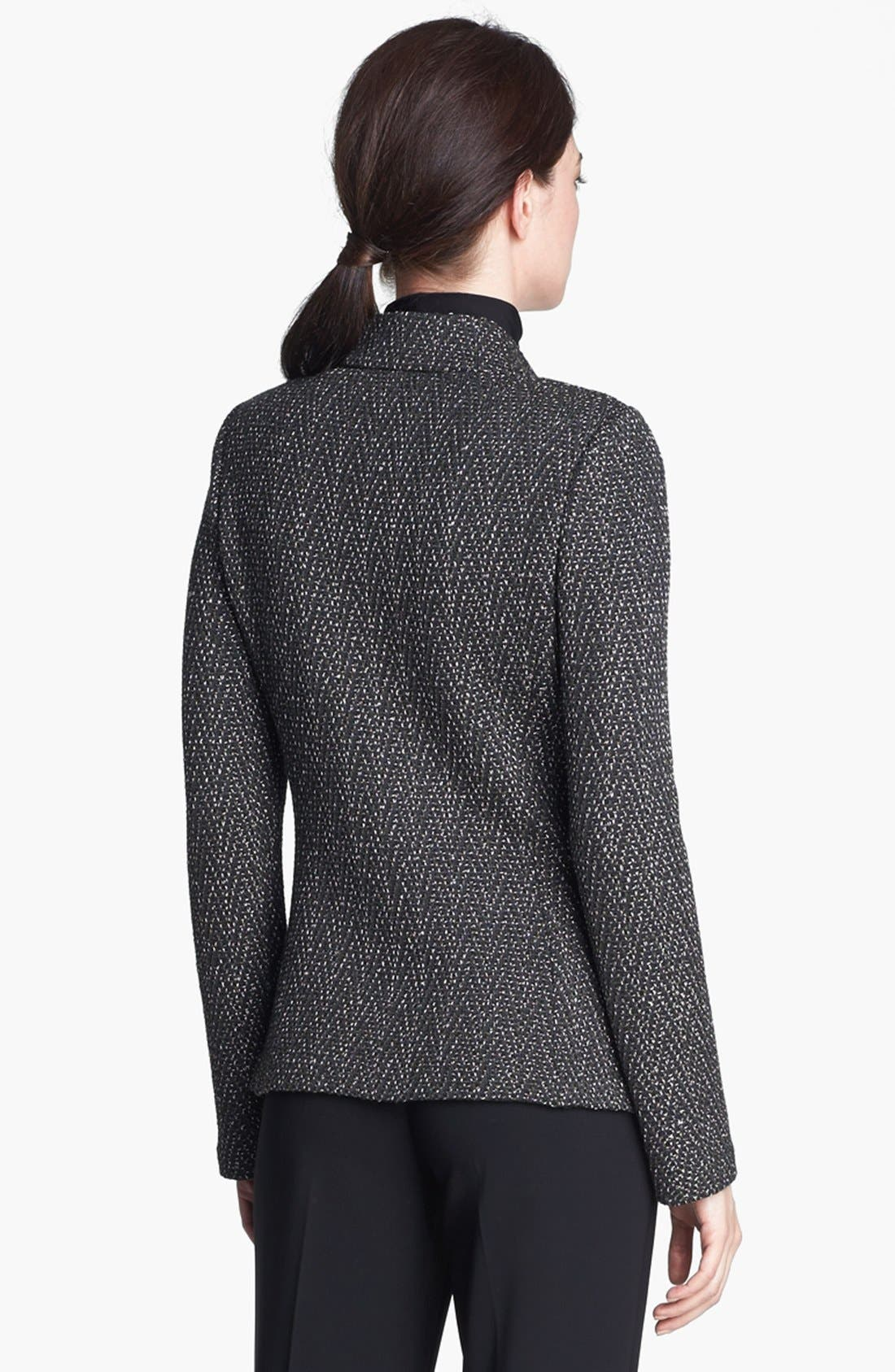Alternate Image 3  - St. John Collection Donegal Chevron Tweed Knit Jacket