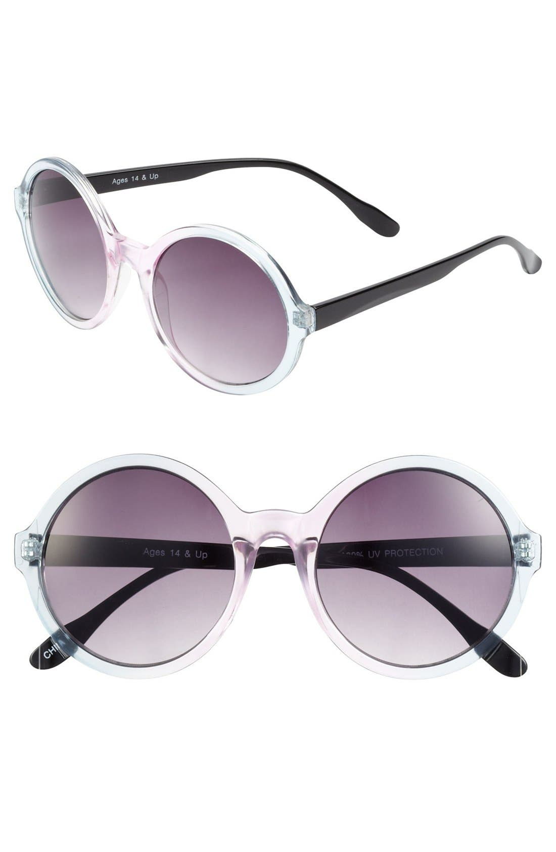 Alternate Image 1 Selected - FE NY 'Ombré Circle' Sunglasses