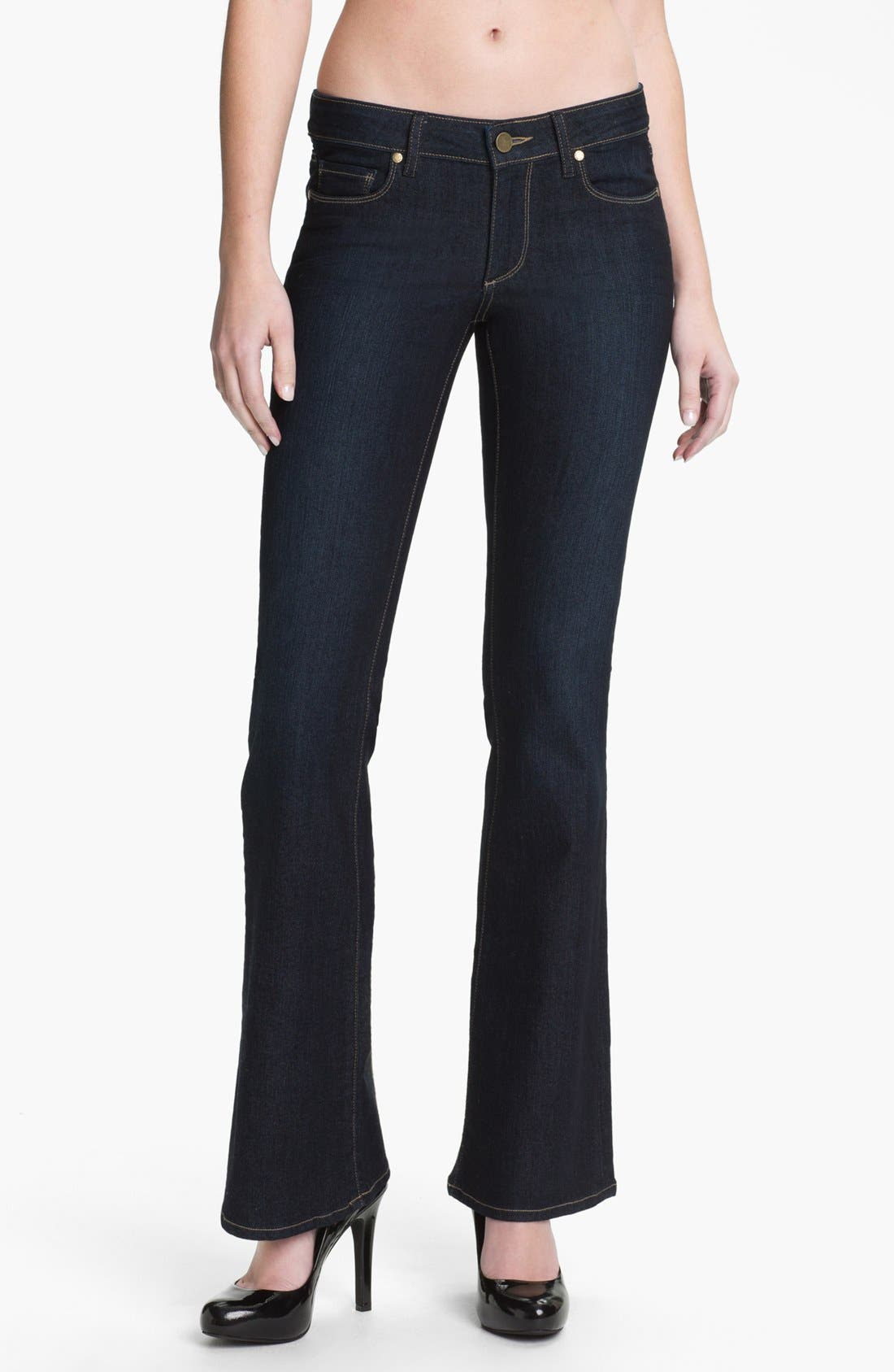 Alternate Image 1 Selected - Paige Denim 'Skyline' Bootcut Stretch Denim Jeans (Michelle)