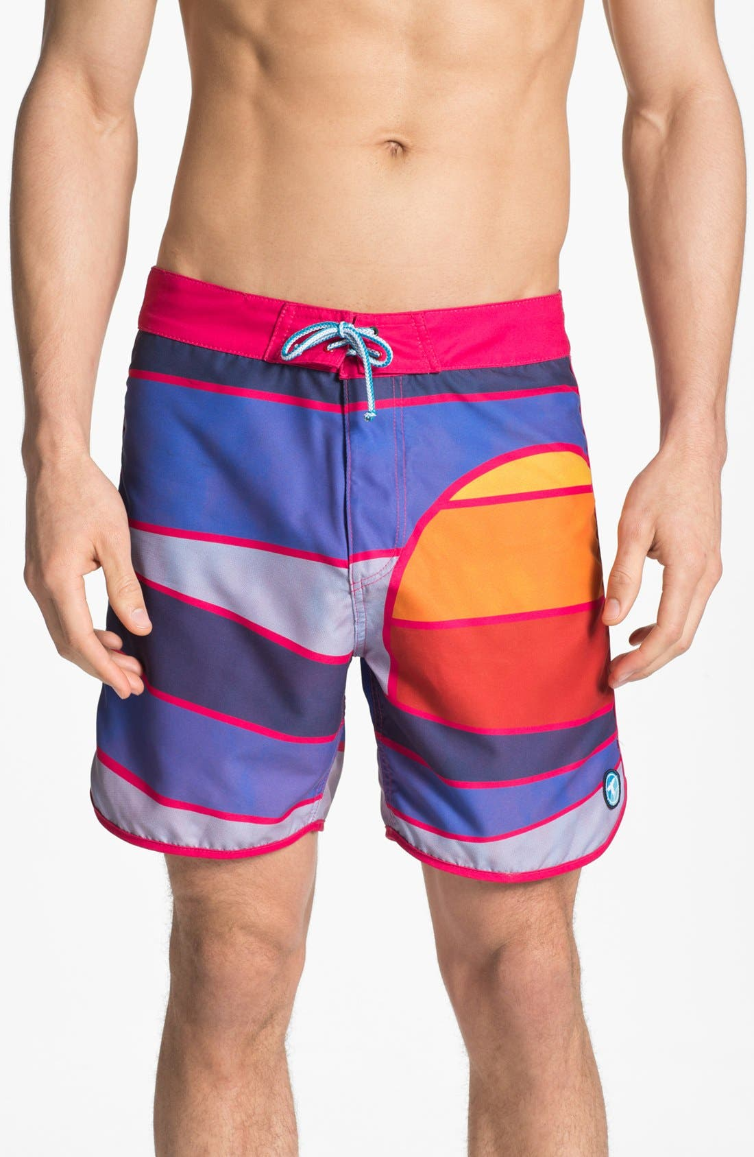 Alternate Image 1 Selected - Topo Ranch 'Sunset' Board Shorts