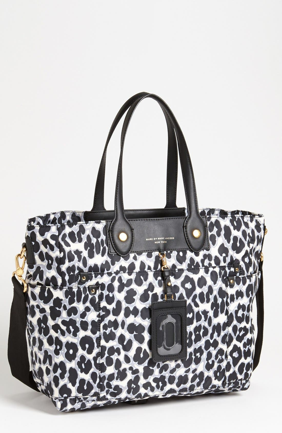 Main Image - MARC BY MARC JACOBS 'Preppy Nylon Eliz-A-Baby' Diaper Bag