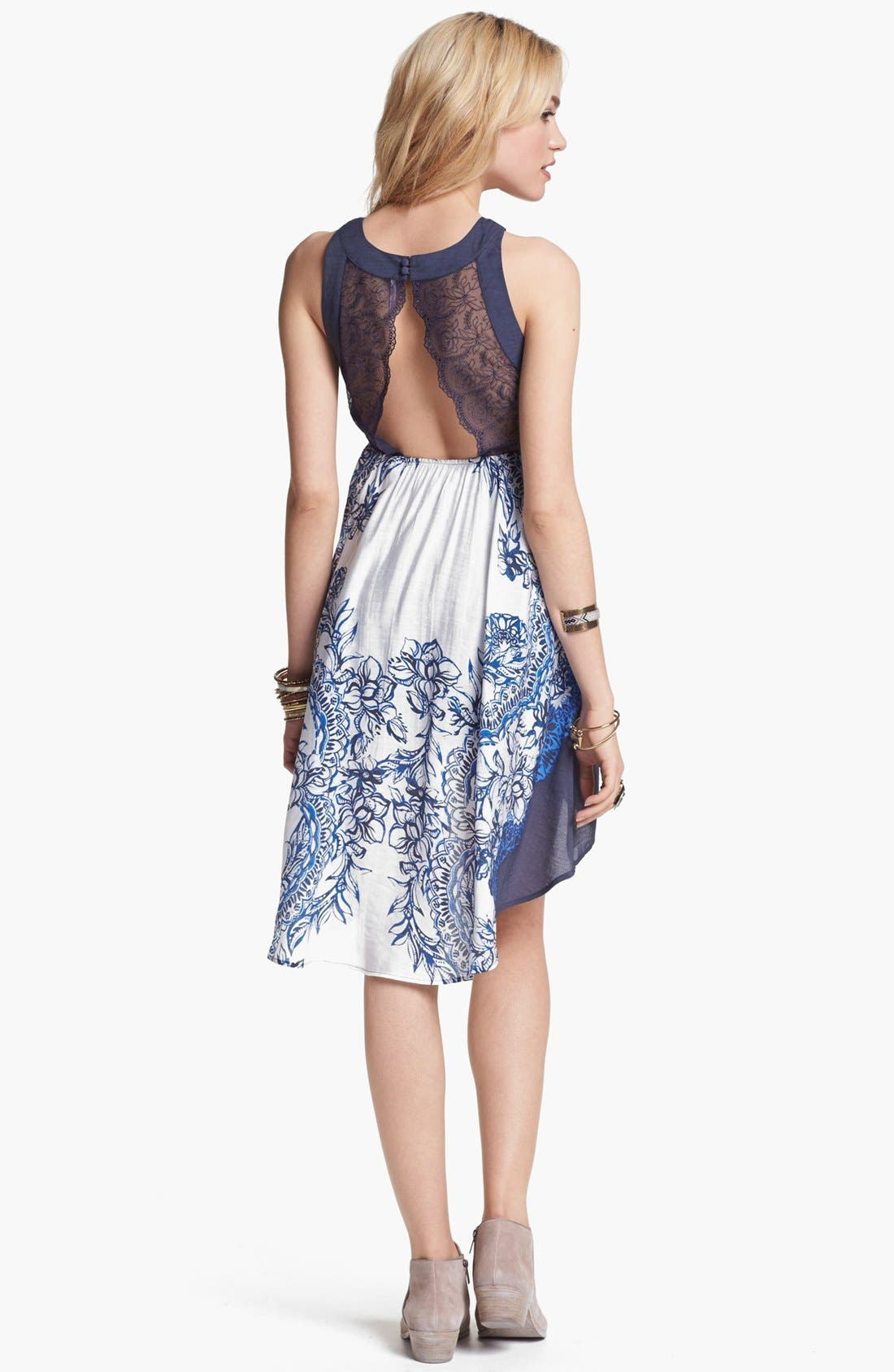 Alternate Image 2  - Free People 'Russian Plate' High/Low Dress