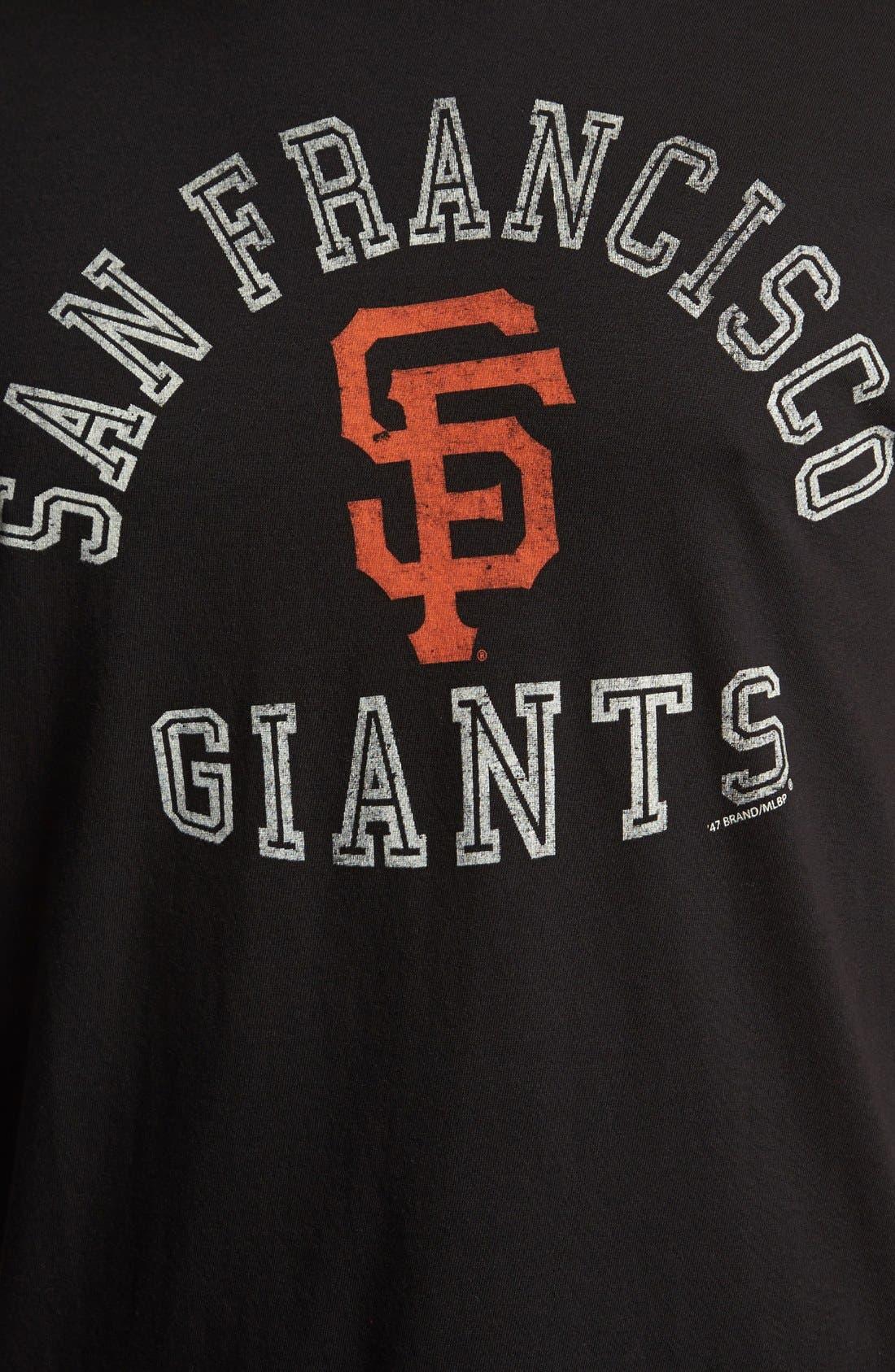 Alternate Image 3  - '47 'San Francisco Giants - Flanker' T-Shirt