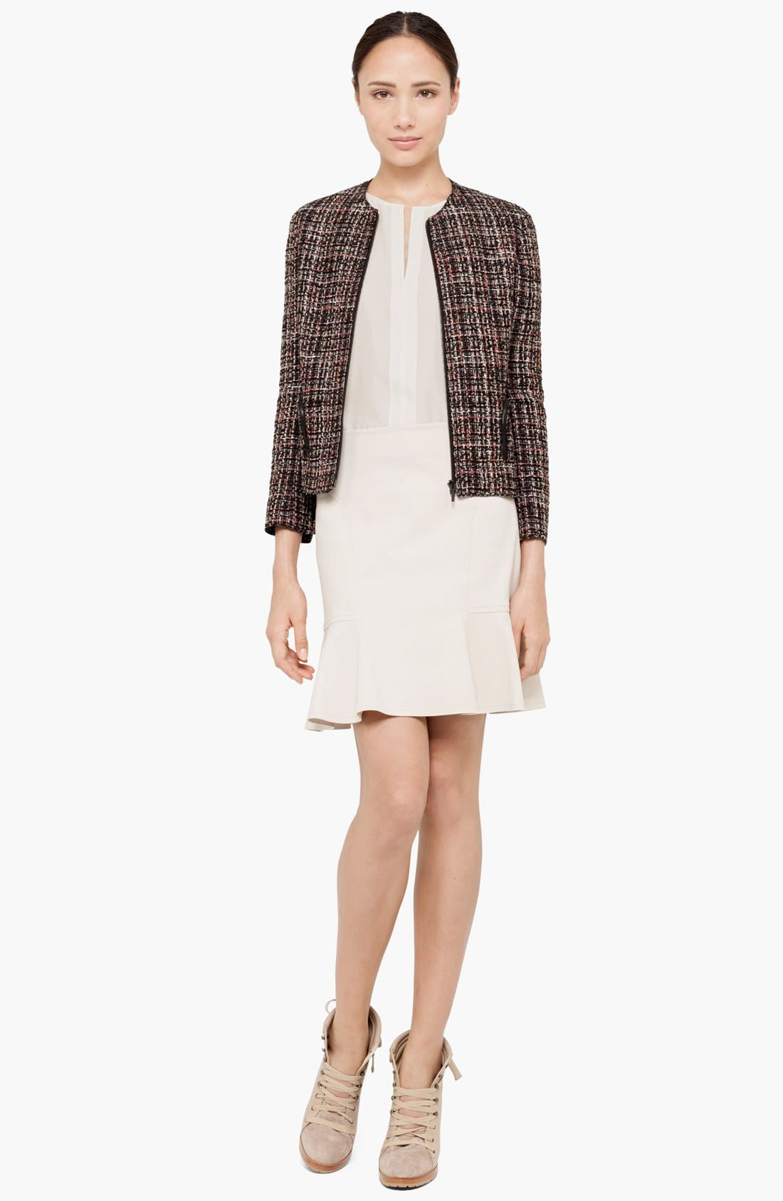 Alternate Image 3  - Akris punto Zip Front Bouclé Jacket