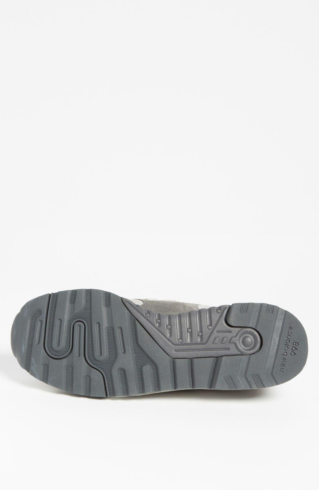 Alternate Image 4  - New Balance '998' Sneaker (Men)