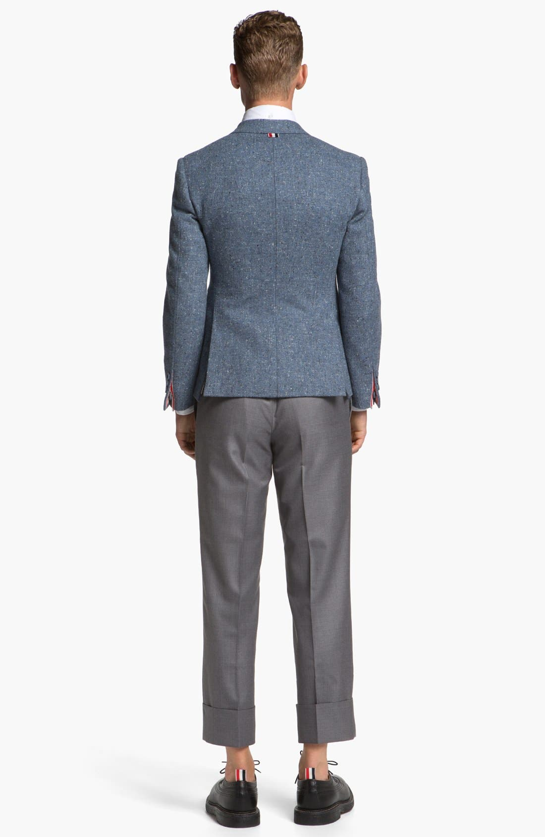 Alternate Image 6  - Thom Browne Wool & Cashmere Trousers