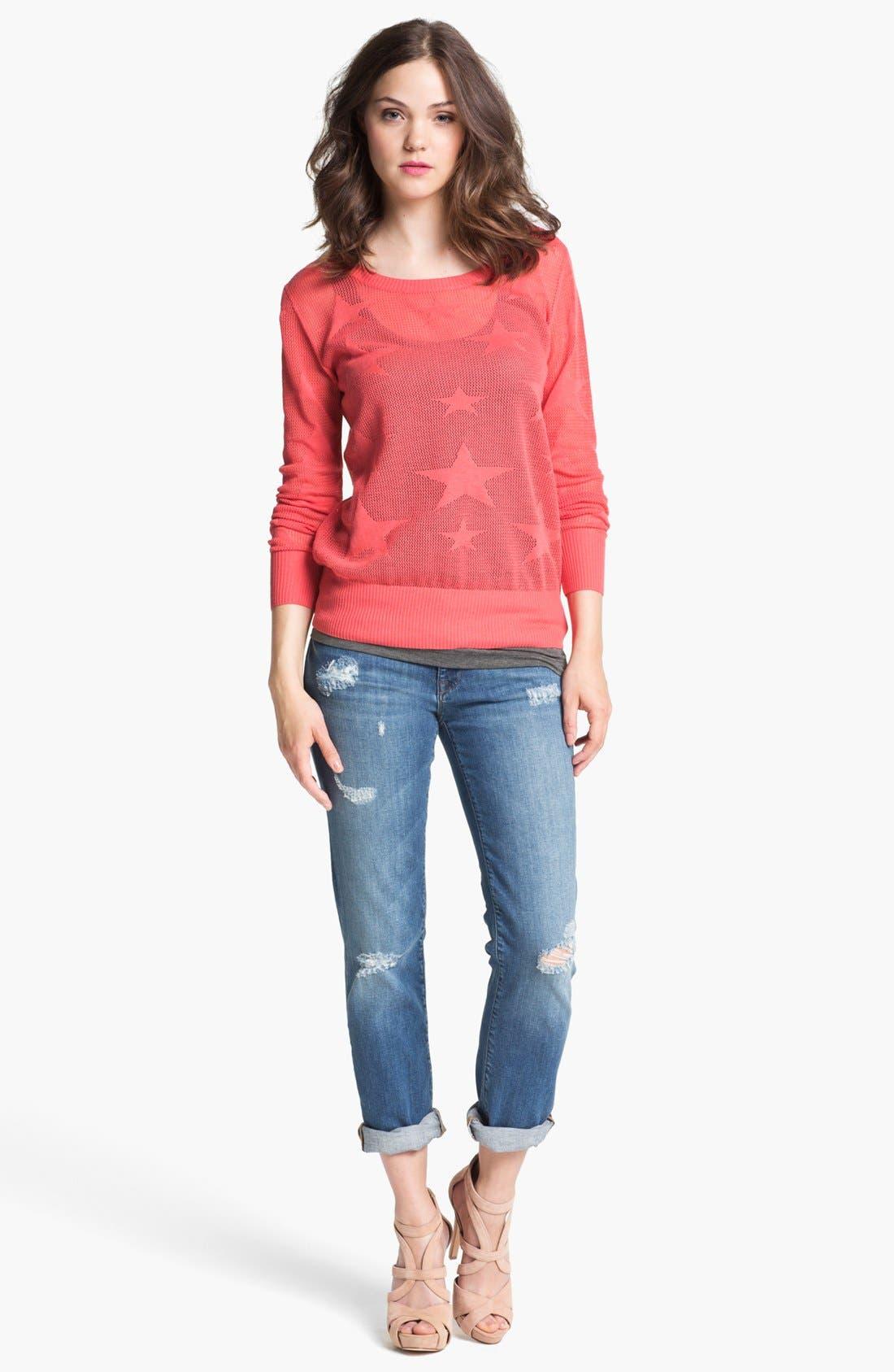 Main Image - Mavi Jeans 'Emma' Slim Boyfriend Jeans (Nolita Blue) (Online Only)