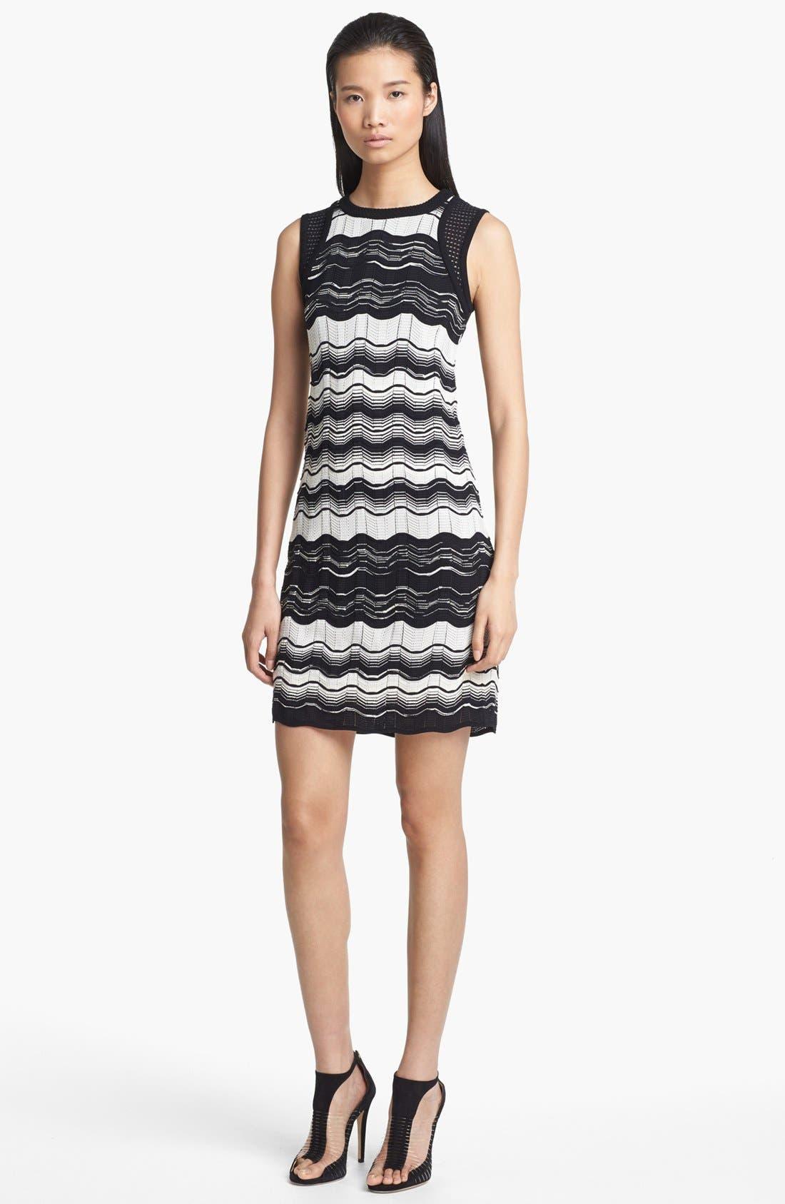 Main Image - M Missoni Greek Key Stripe Dress