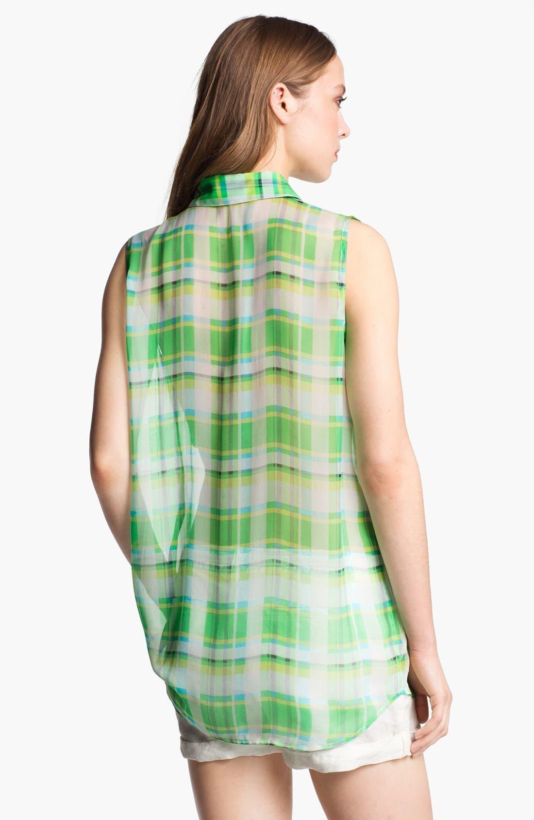 Alternate Image 2  - Equipment 'Signature' Sleeveless Silk Shirt