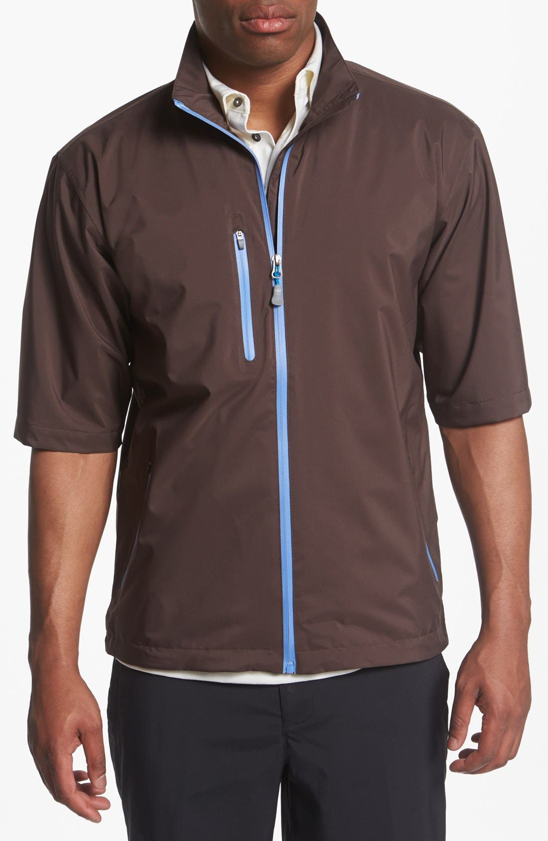 Alternate Image 1 Selected - Peter Millar 'Toronto' Short Sleeve Rain Jacket