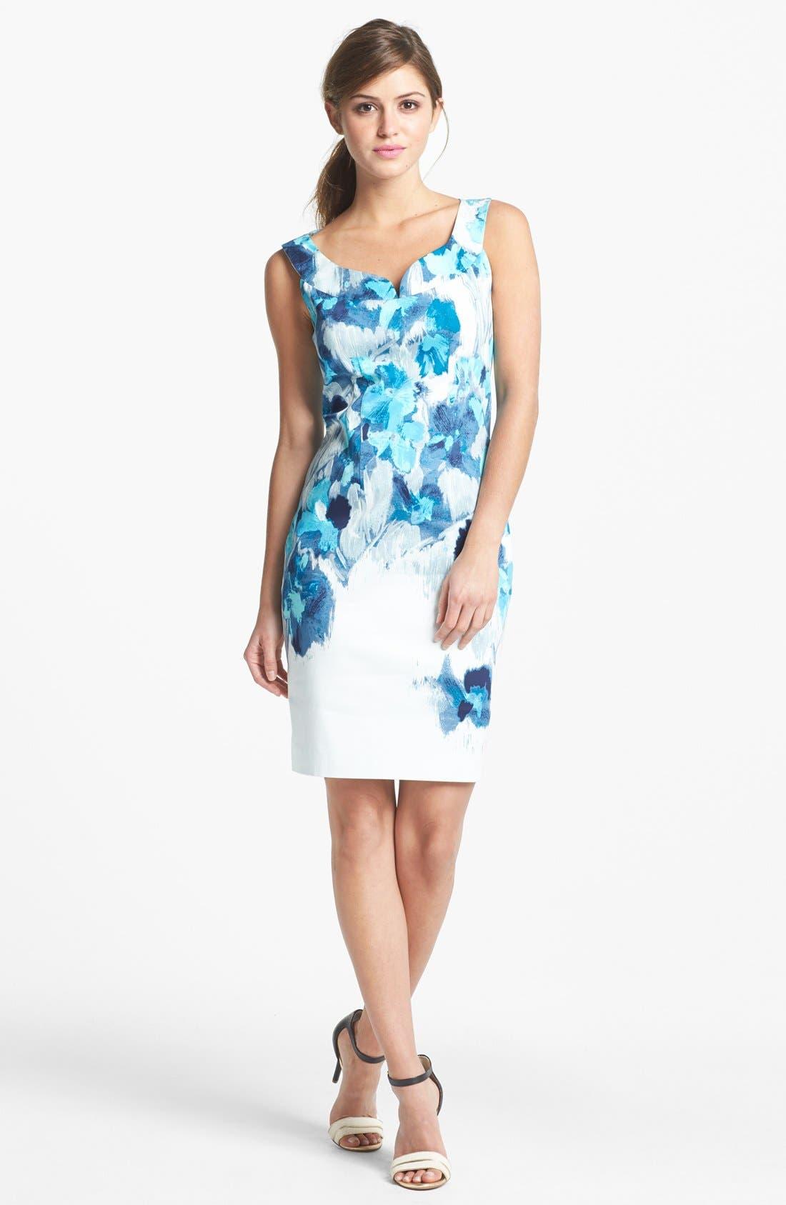 Main Image - T Tahari 'Indiana' Dress (Petite)