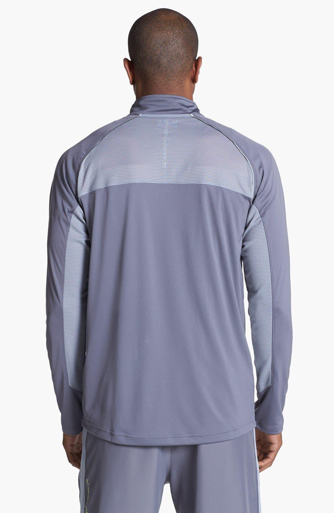 Alternate Image 2  - Under Armour Quarter Zip Shirt