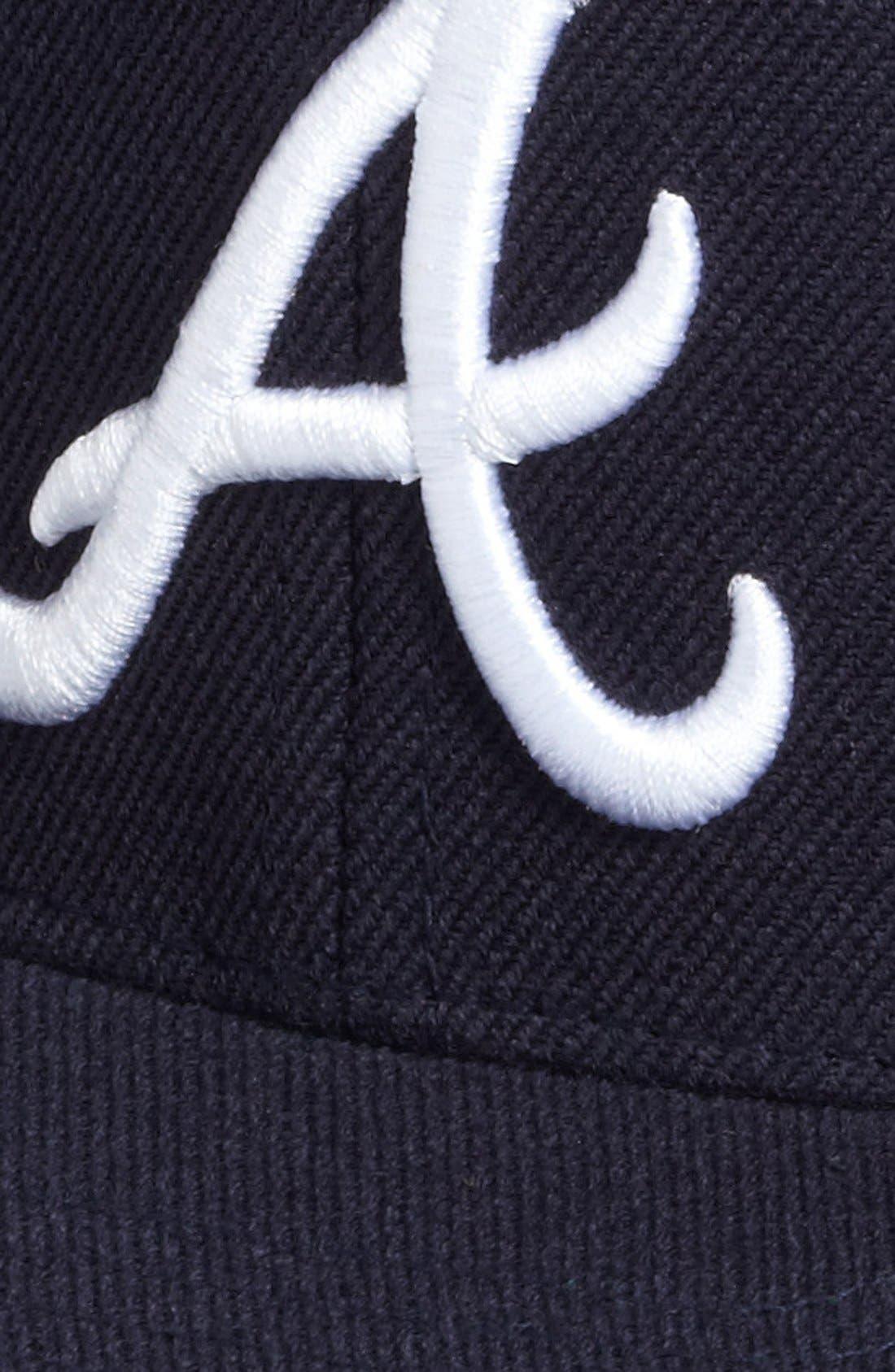 Alternate Image 3  - American Needle 'Atlanta Braves - 400 Series' Snapback Baseball Cap