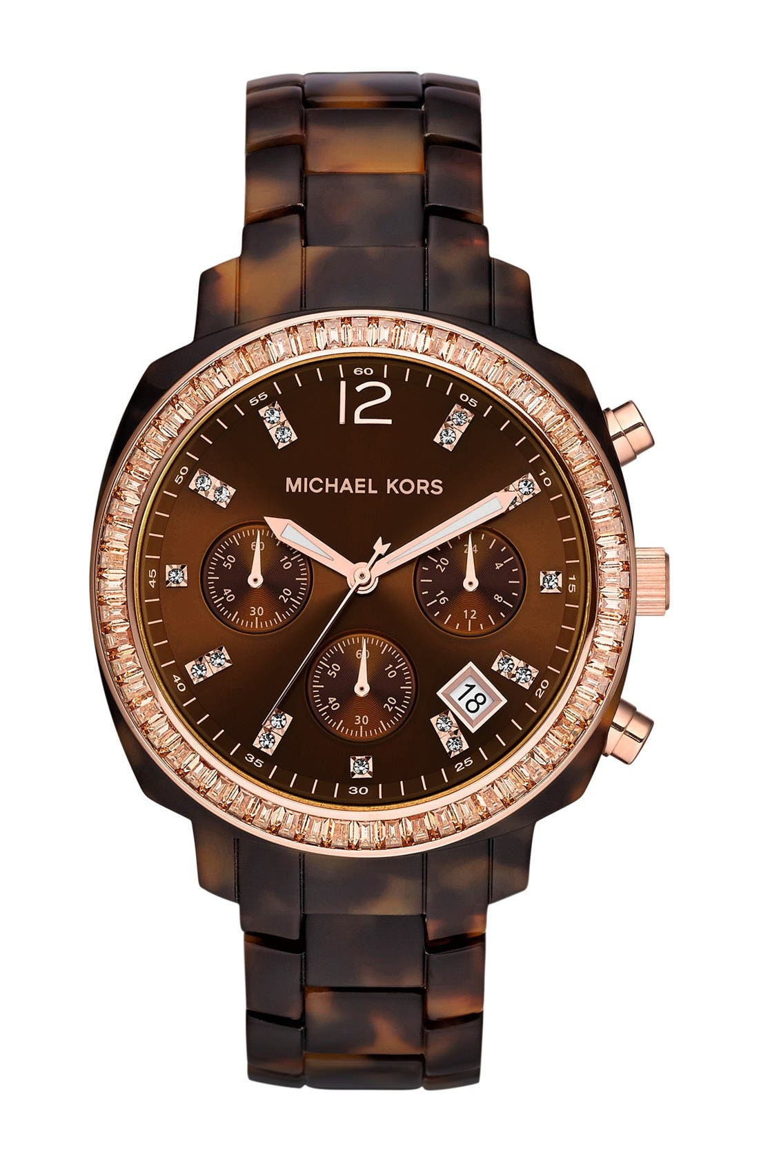 Alternate Image 1 Selected - Michael Kors 'Wolcott' Chronograph Bracelet Watch, 41mm
