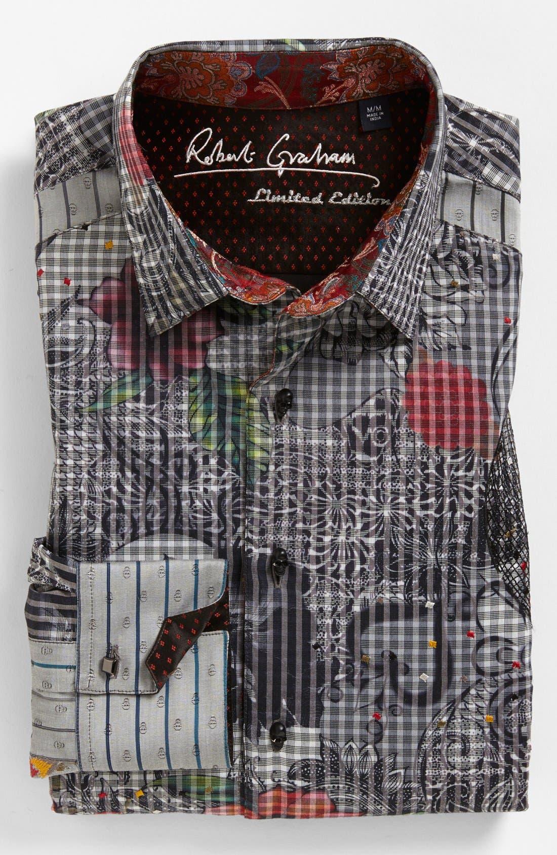 Alternate Image 2  - Robert Graham 'Tequila' Regular Fit Sport Shirt